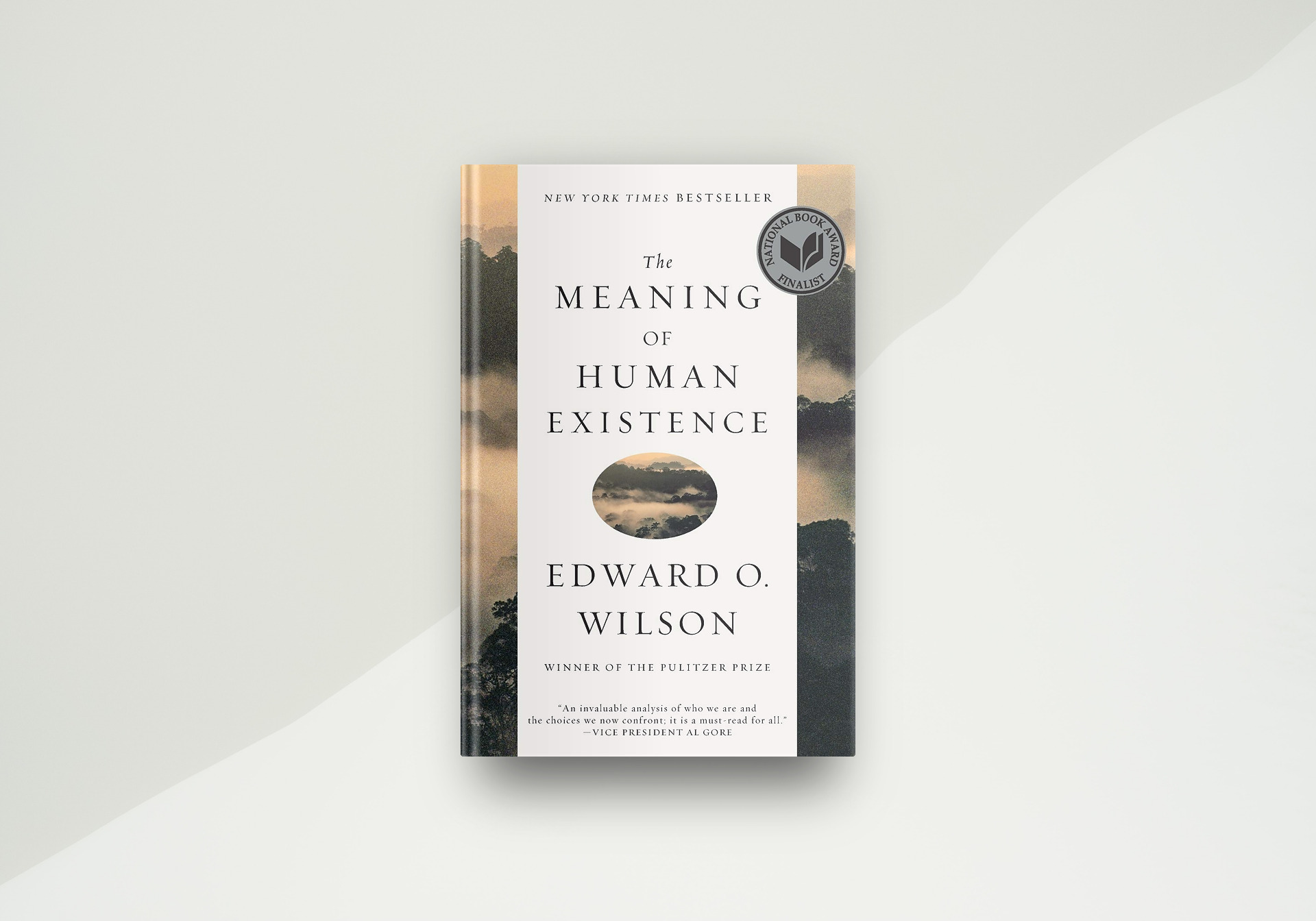 The Meaning Of Human Existence By Edward O. Wilson - Book Cover