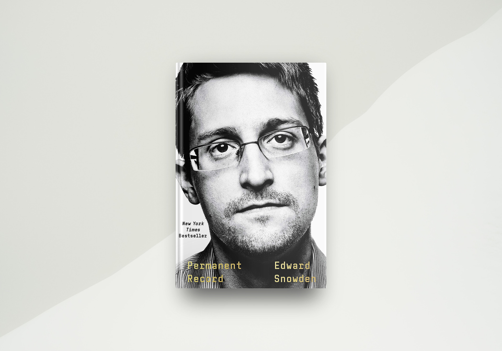 Permanent Record By Edward Snowden - Book Cover