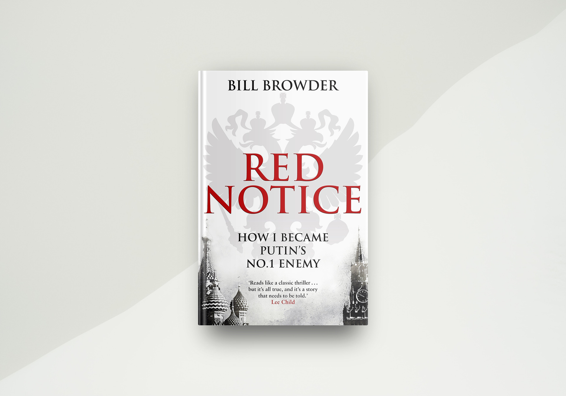 Red Notice By Bill Browder - Book Cover
