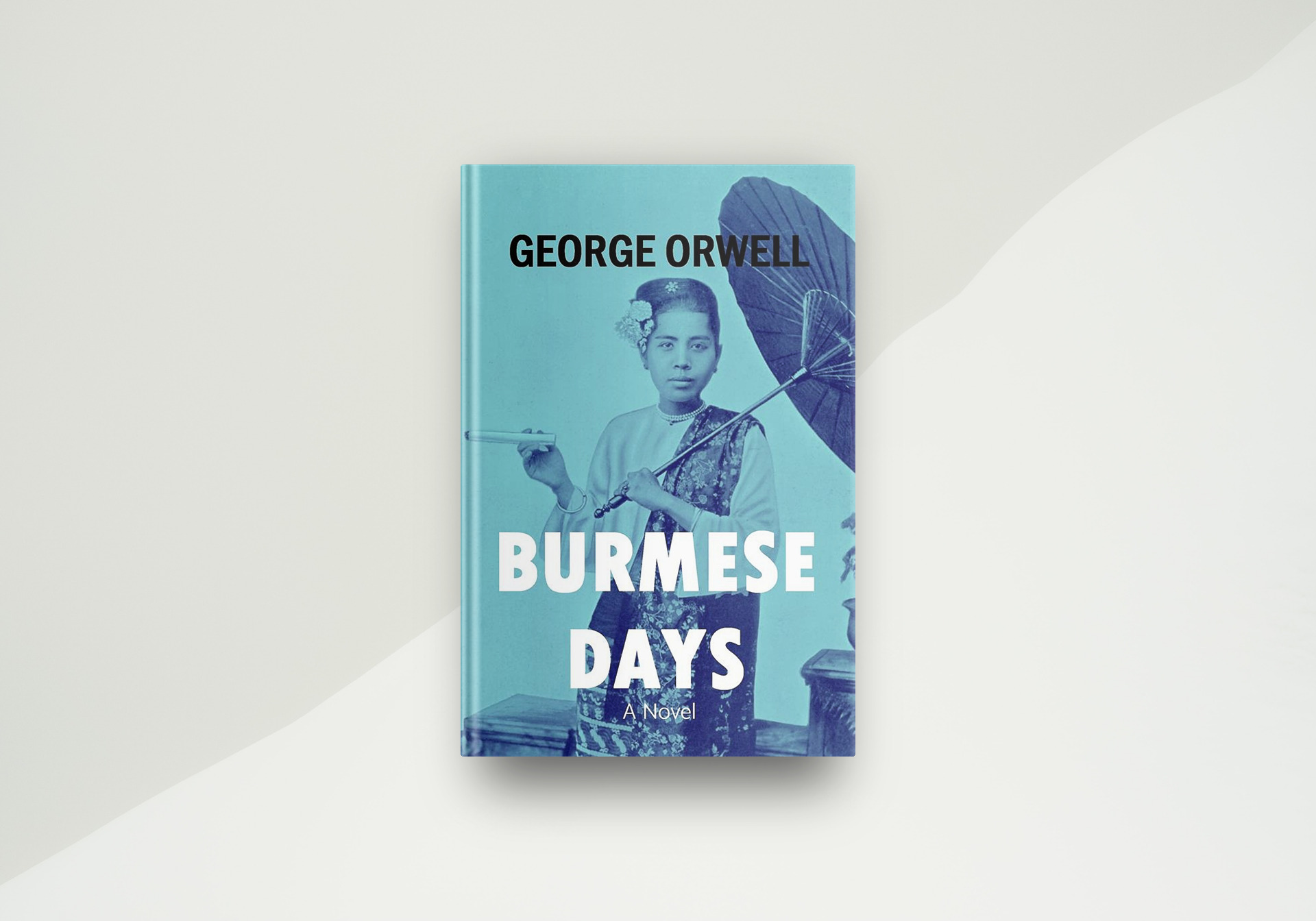 Burmese Days By George Orwell - Book Cover