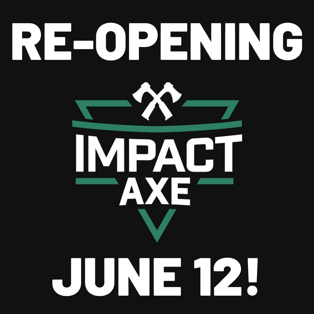 Re-opening on June 12th!