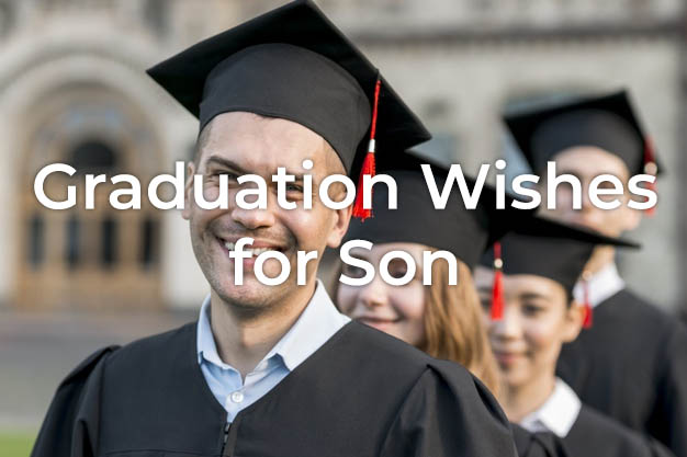 Graduation Wishes for Son
