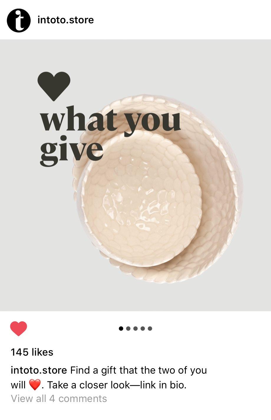 Intoto Store Instagram