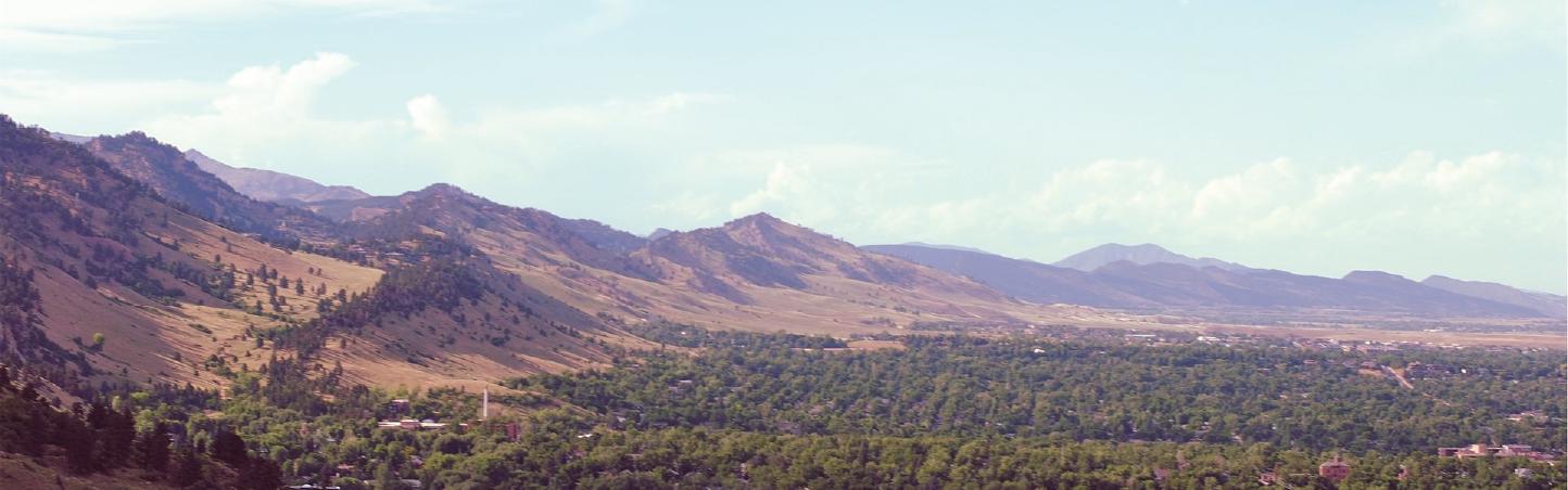 Flatirons Boulder