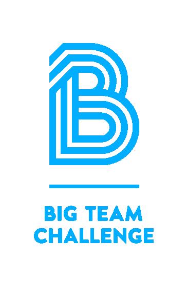 Big Team Challenge's logo in blue