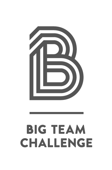 Big Team Challenge's logo in grey
