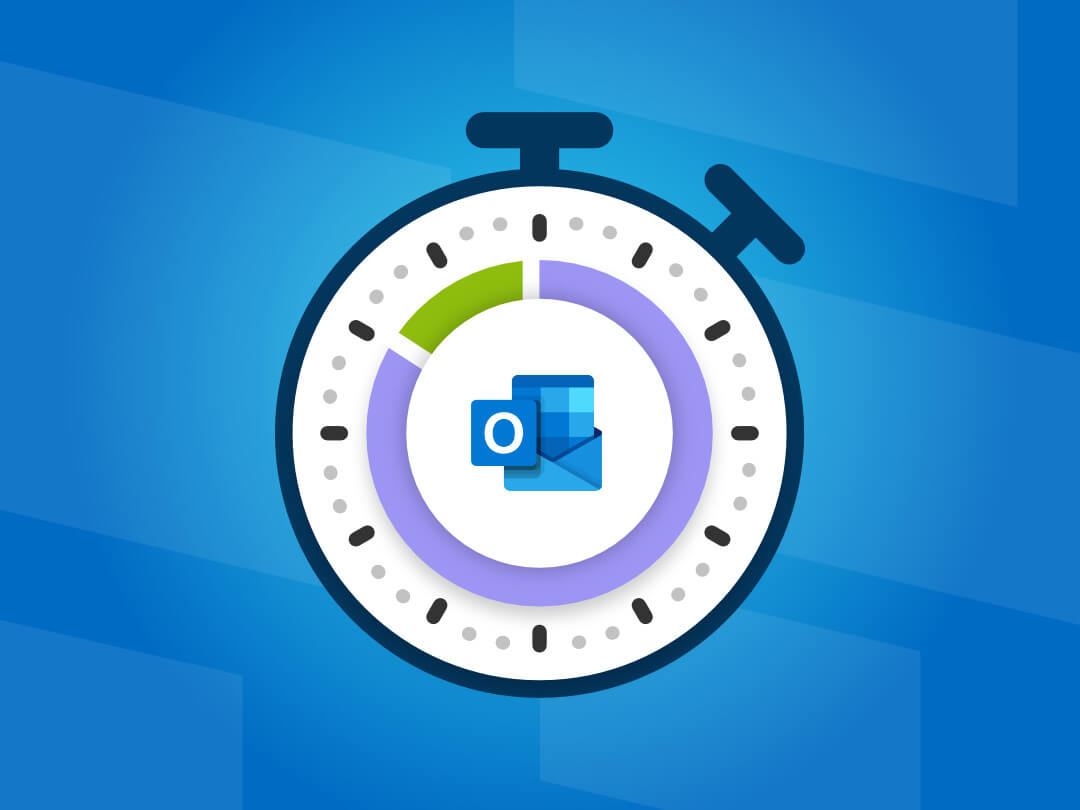 Image of timer with buffer time using Outlook.