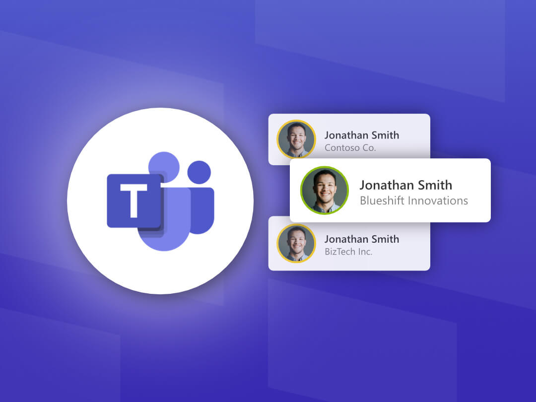 Image of Multi-Account Sign-In in Microsoft Teams.