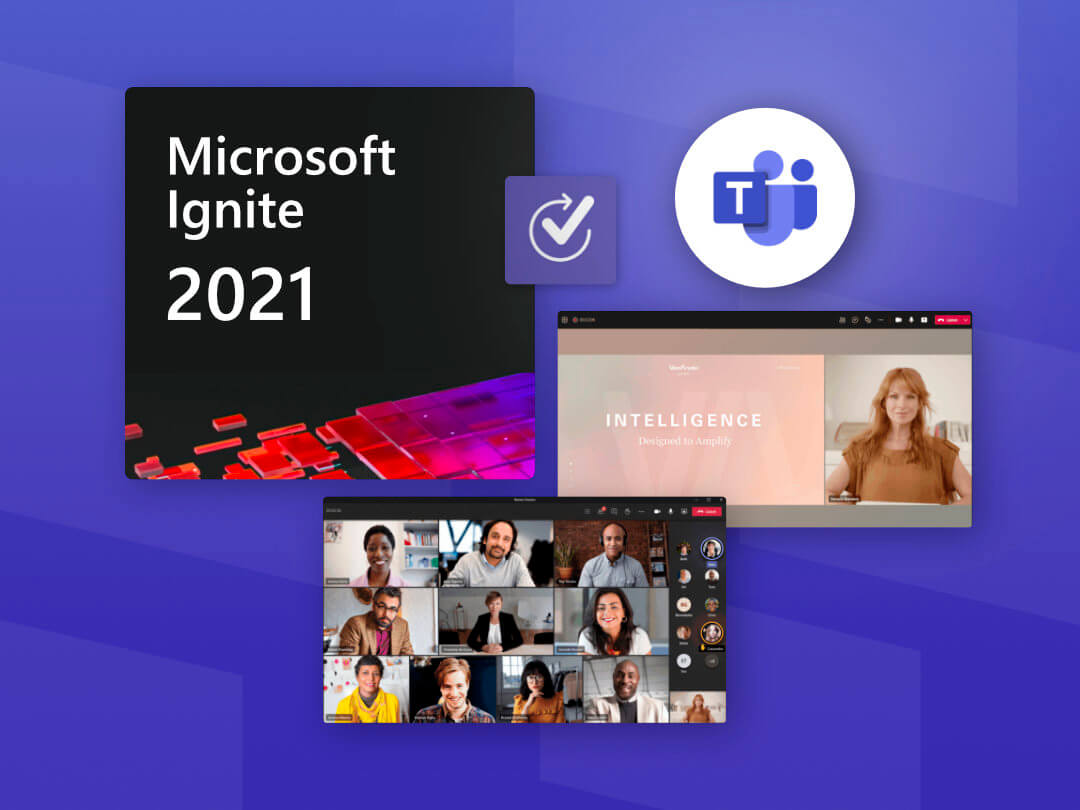 Image of the new features for Microsoft Teams from Microsoft Ignite 2021