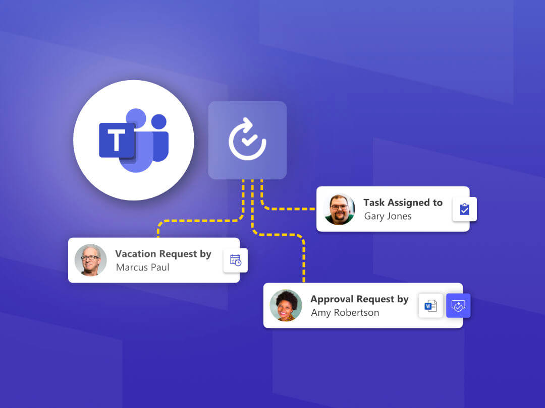 Image of more ways to use the Approvals app in Microsoft Teams.