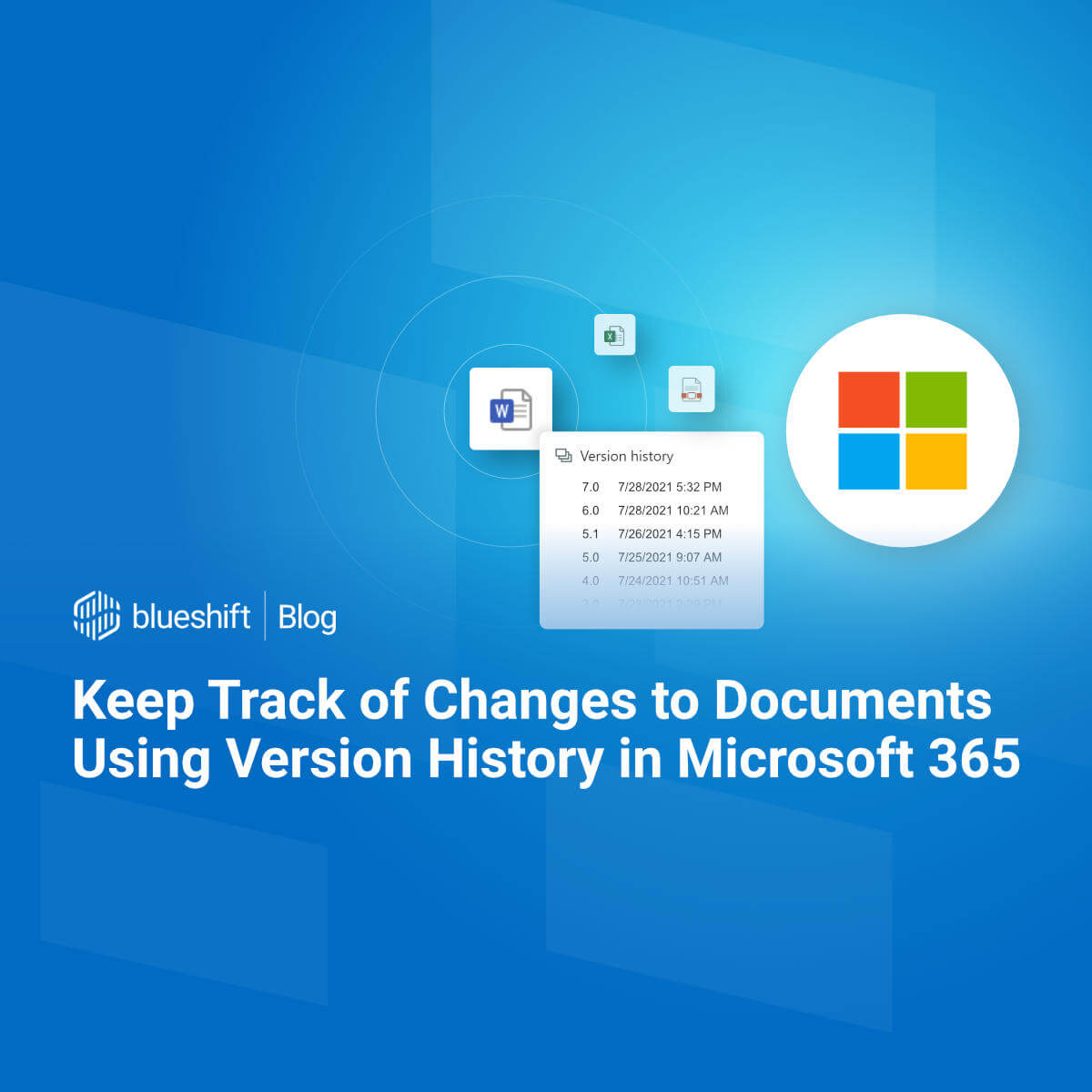 Keep Track of Changes to Documents Using Version History in ...