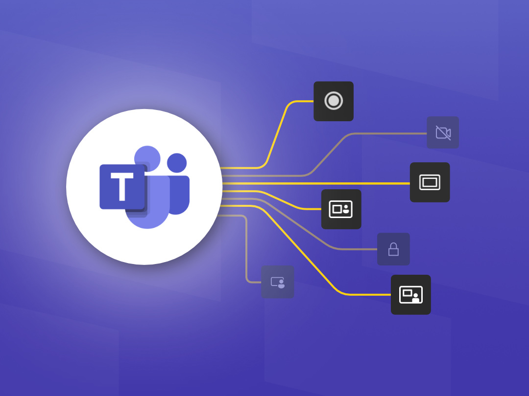 Image of new features that rolled out this summer in Microsoft Teams.
