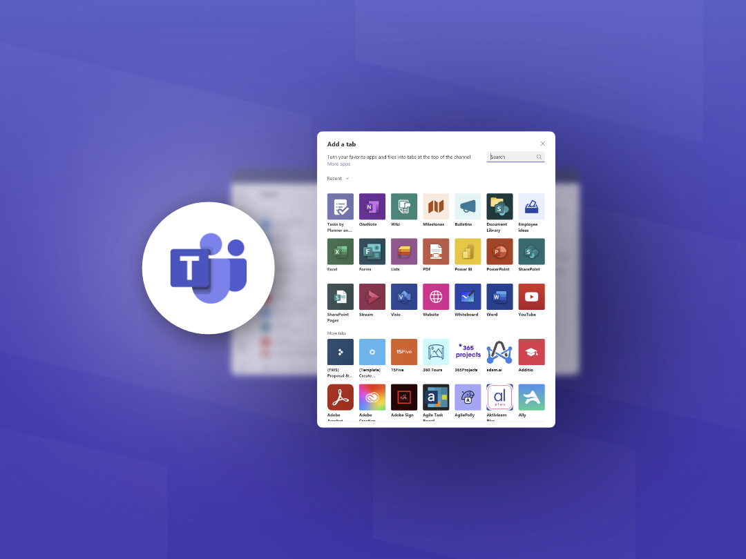How to Add Tabs to Your Microsoft Teams Channel.