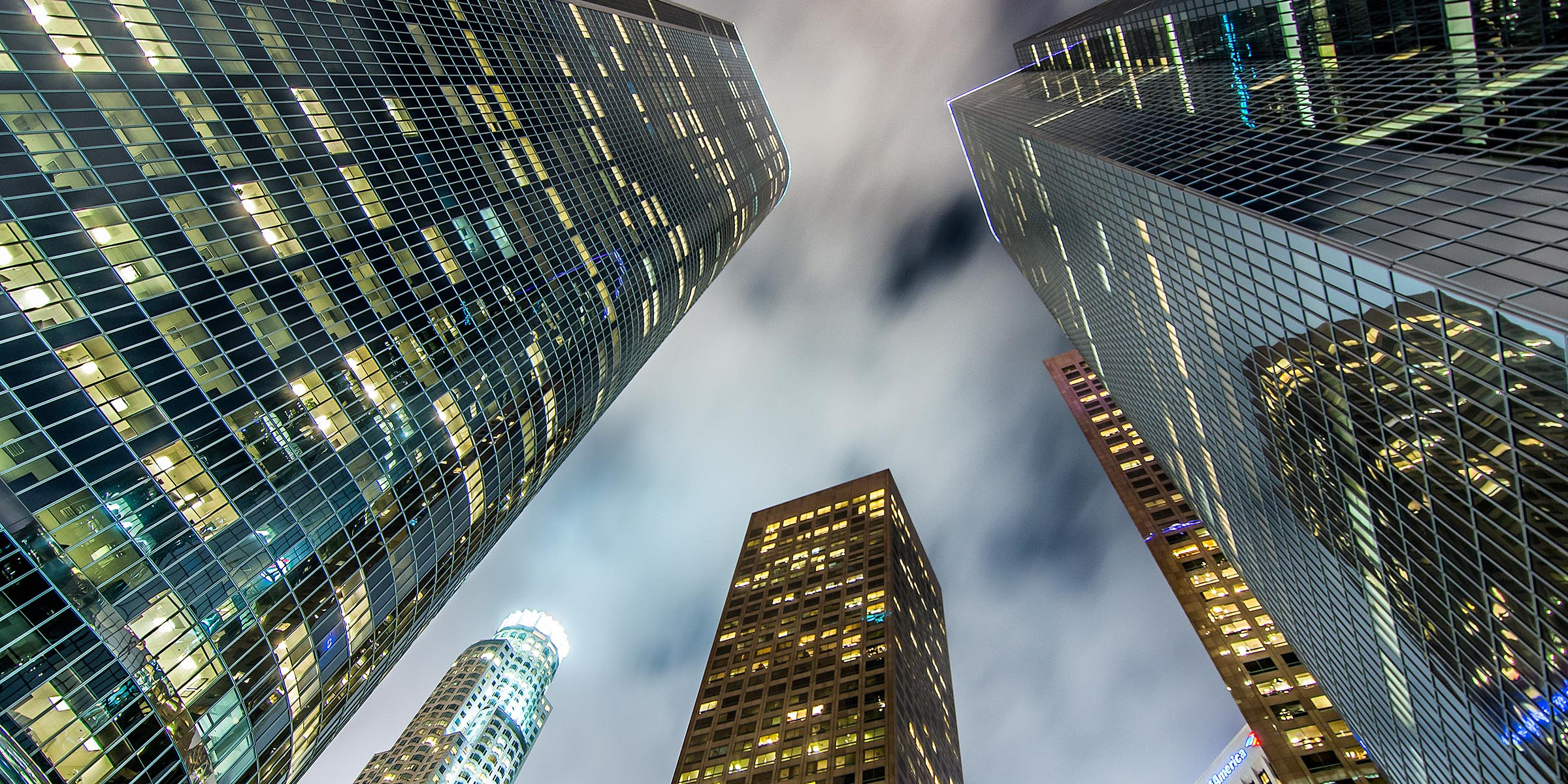 Photograph of Downtown in Los Angeles, California by Brent Goldman Photography