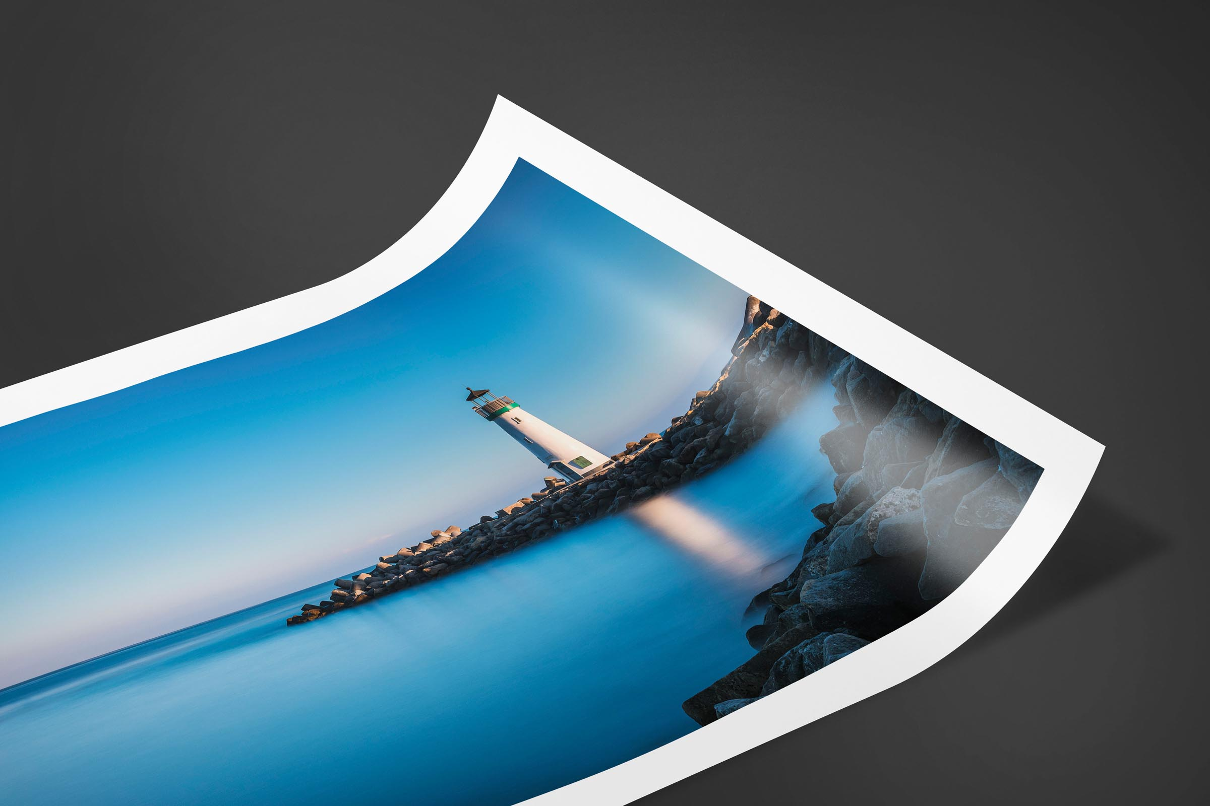 Fine art limited edition print of Walton Lighthouse in Santa Cruz, California by Brent Goldman Photography
