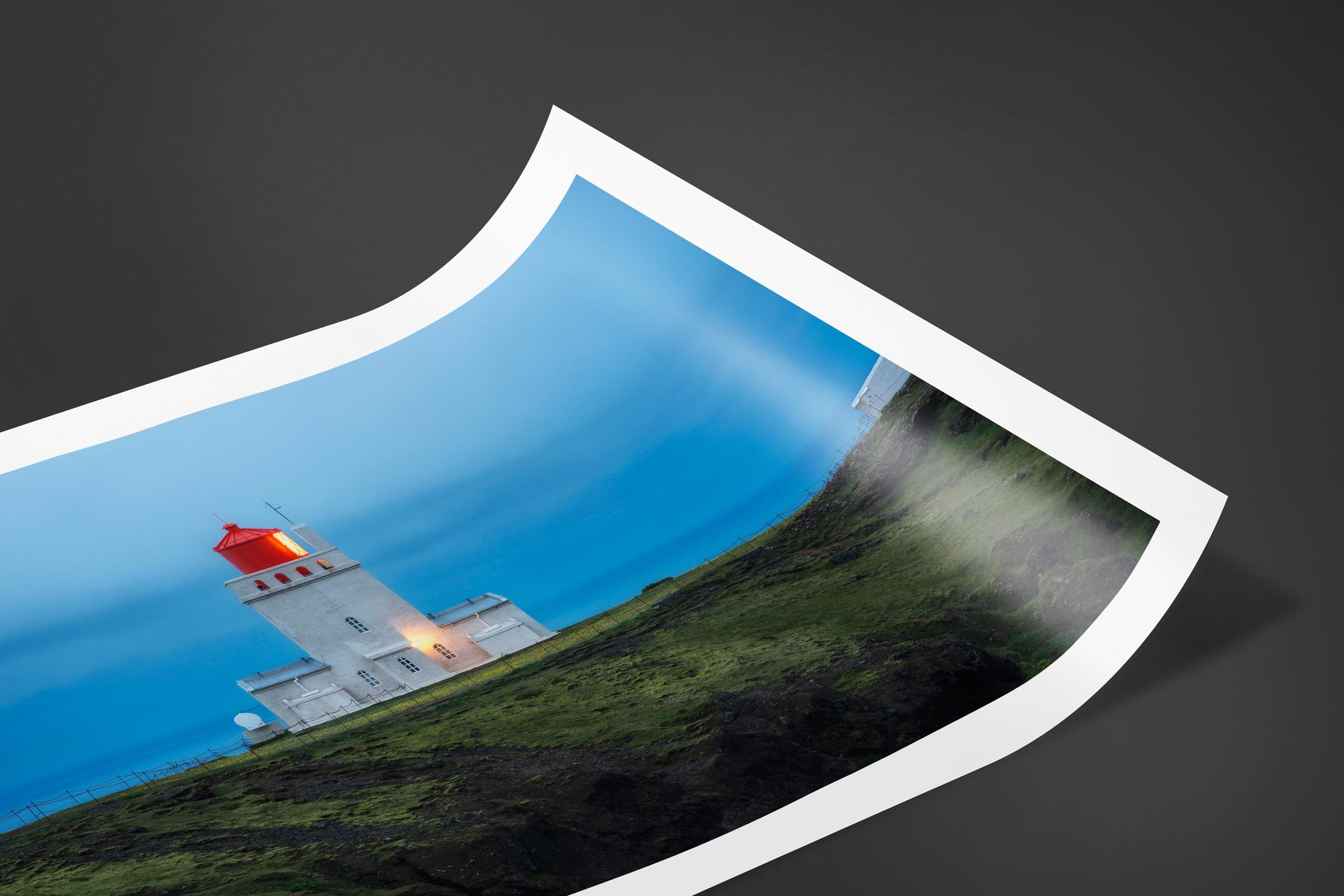 Fine art limited edition print of Dyrholaey Lighthouse in Vik, Iceland by Brent Goldman Photography