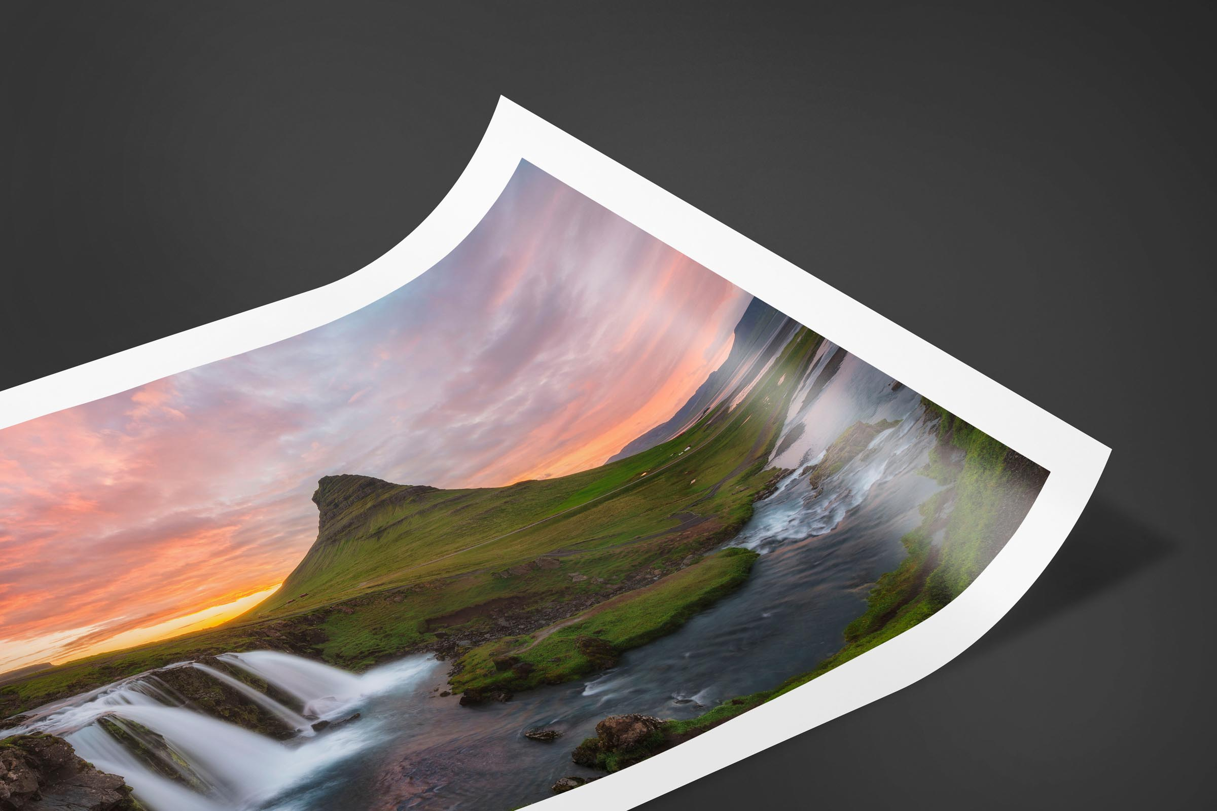 Fine art limited edition print of Kirkjufell Mountain in Snæfellsnes, Iceland by Brent Goldman Photography