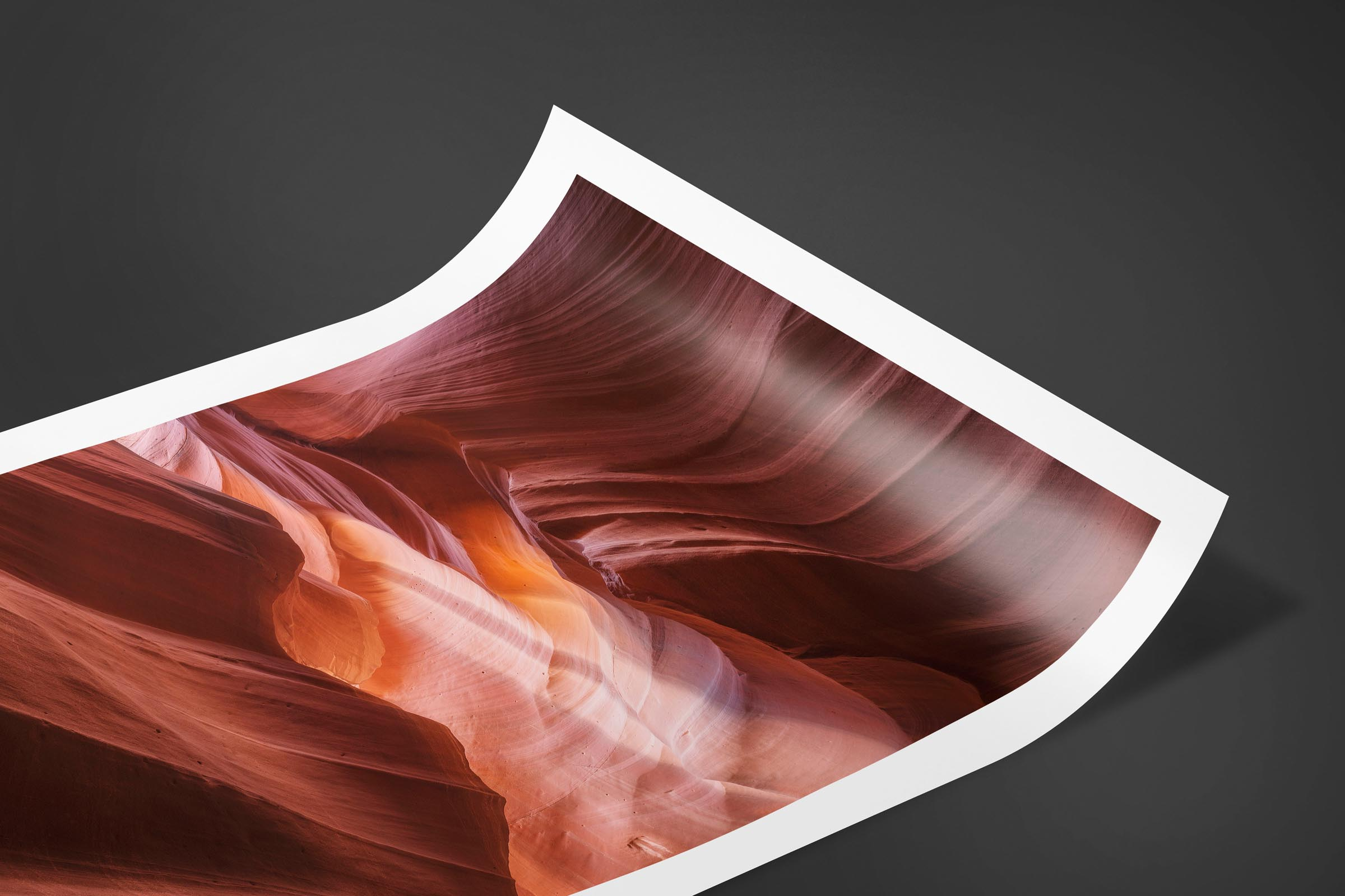 Fine art limited edition print of Antelope Canyon in Page, Arizona by Brent Goldman Photography