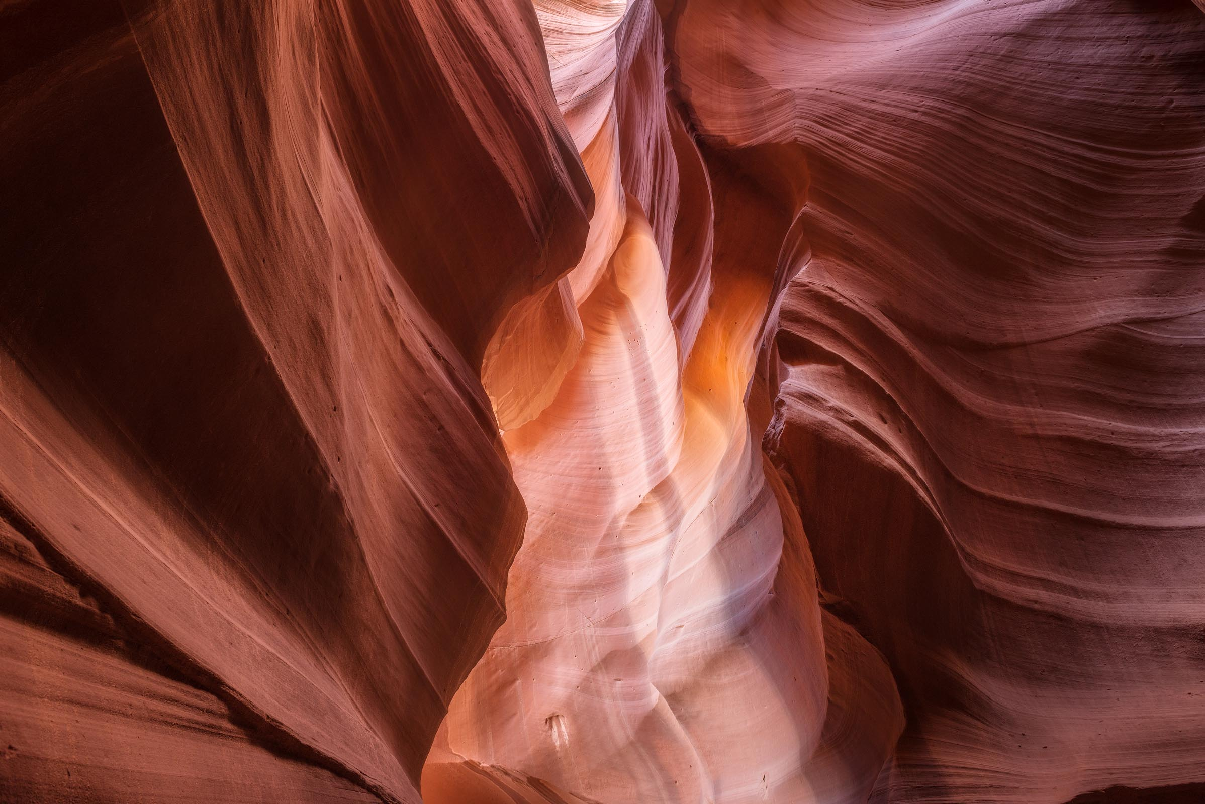 Photograph of Antelope Canyon in Page, Arizona by Brent Goldman Photography