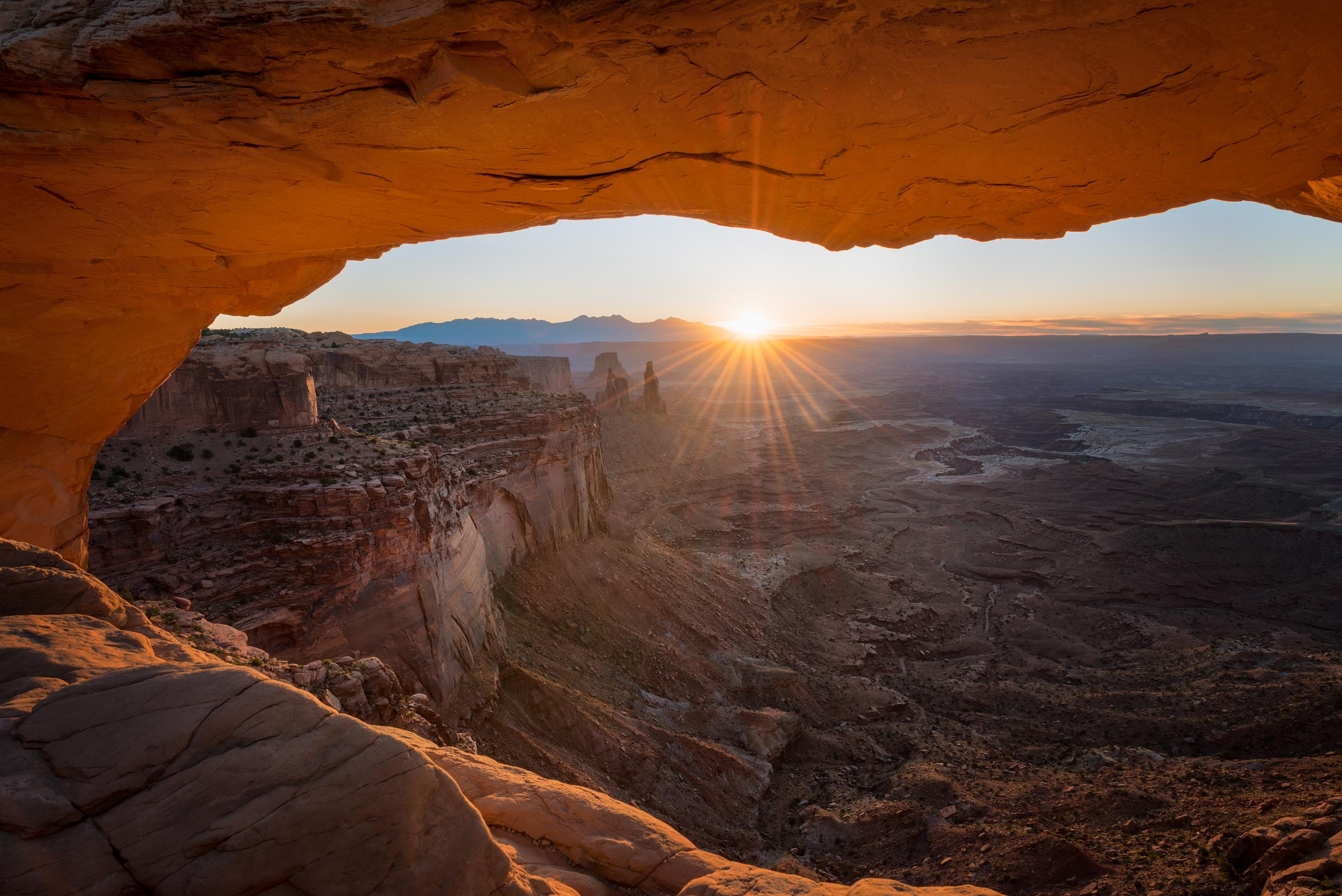Photograph of Mesa Arch in Canyonlands, Utah by Brent Goldman Photography