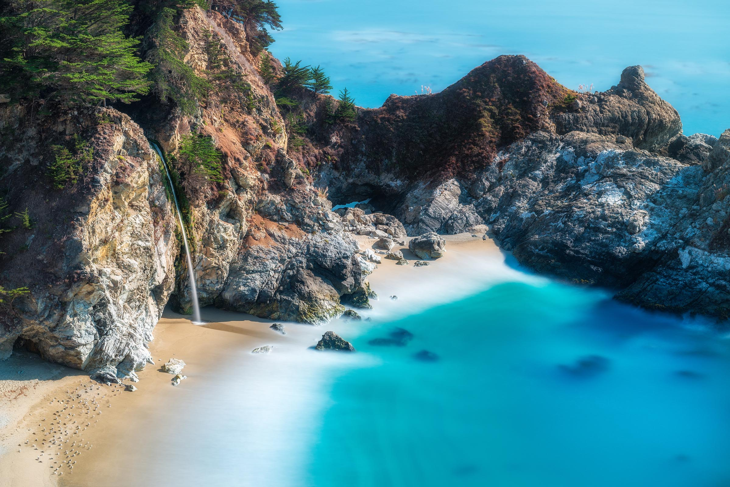 Photograph of McWay Falls in Big Sur, California by Brent Goldman Photography