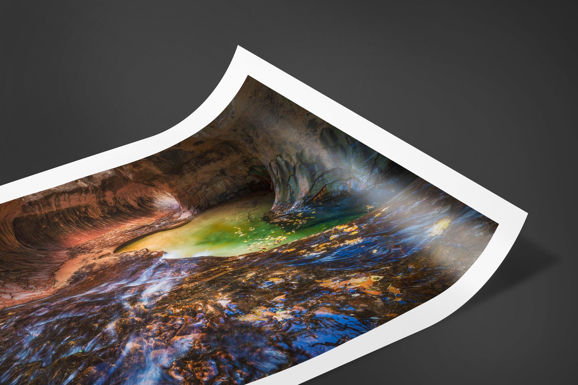 Fine art limited edition print of Subway in Zion, Utah by Brent Goldman Photography