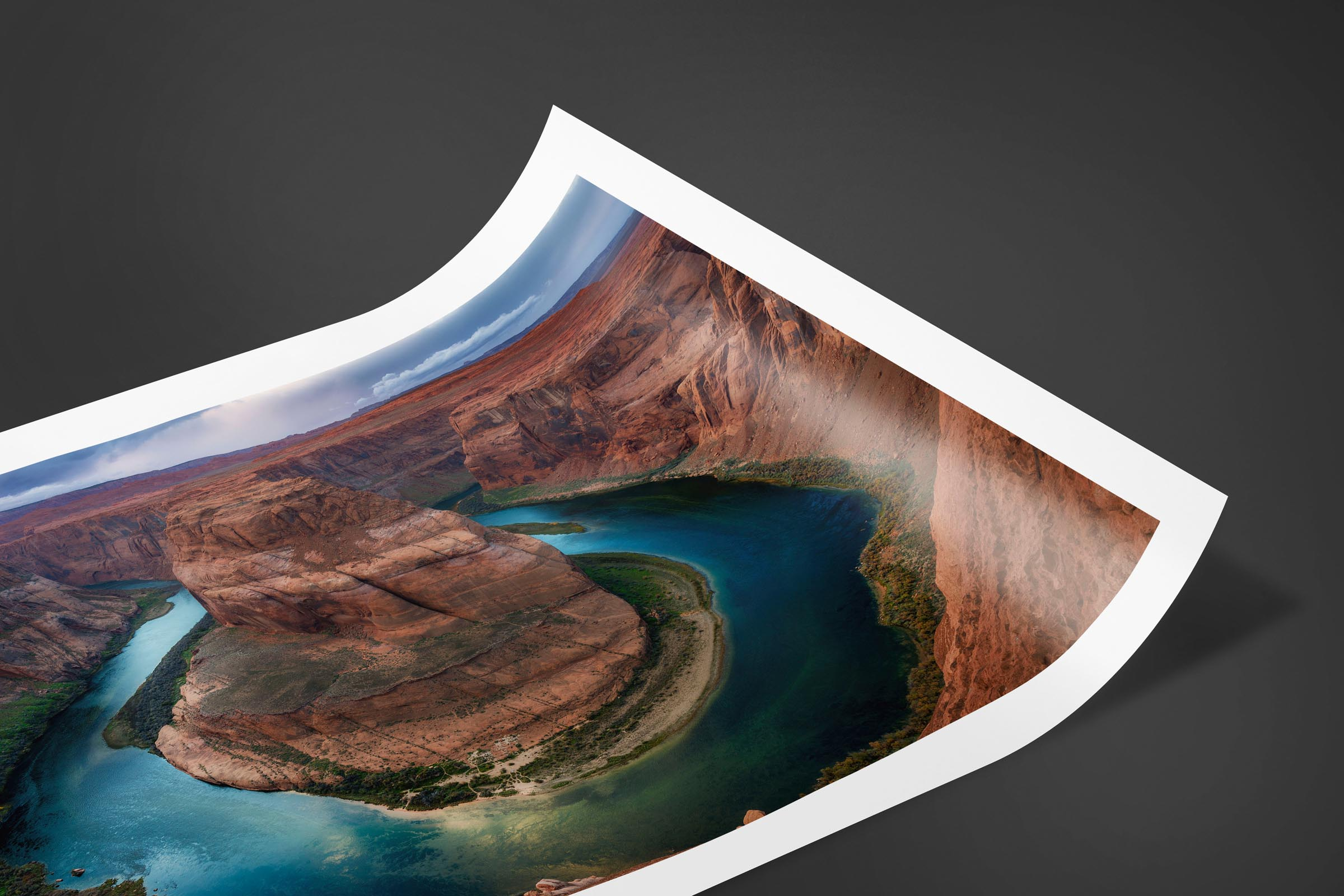 Fine art limited edition print of Horseshoe Bend in Page, Arizona by Brent Goldman Photography