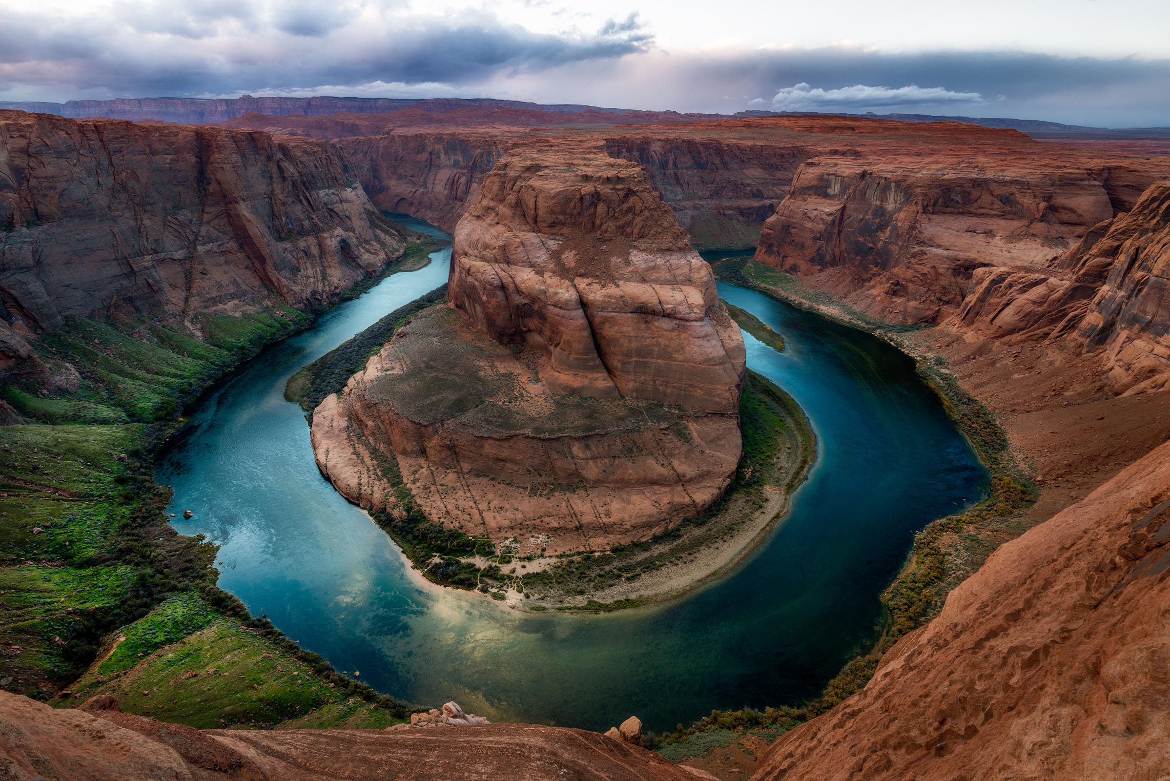 Photograph of Horseshoe Bend in Page, Arizona by Brent Goldman Photography