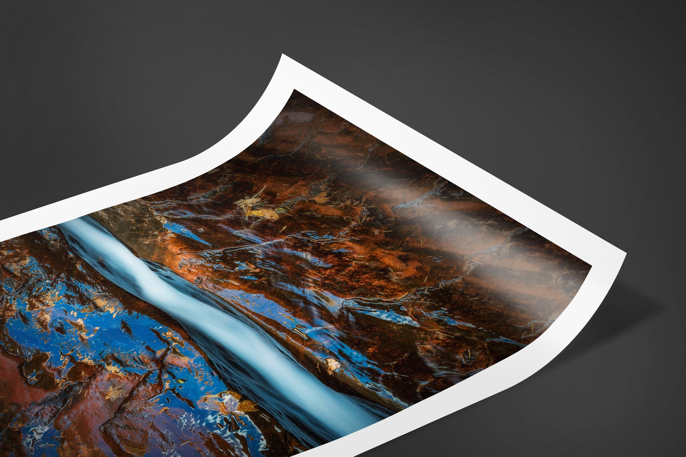 Fine art limited edition print of The Crack in Zion, Utah by Brent Goldman Photography