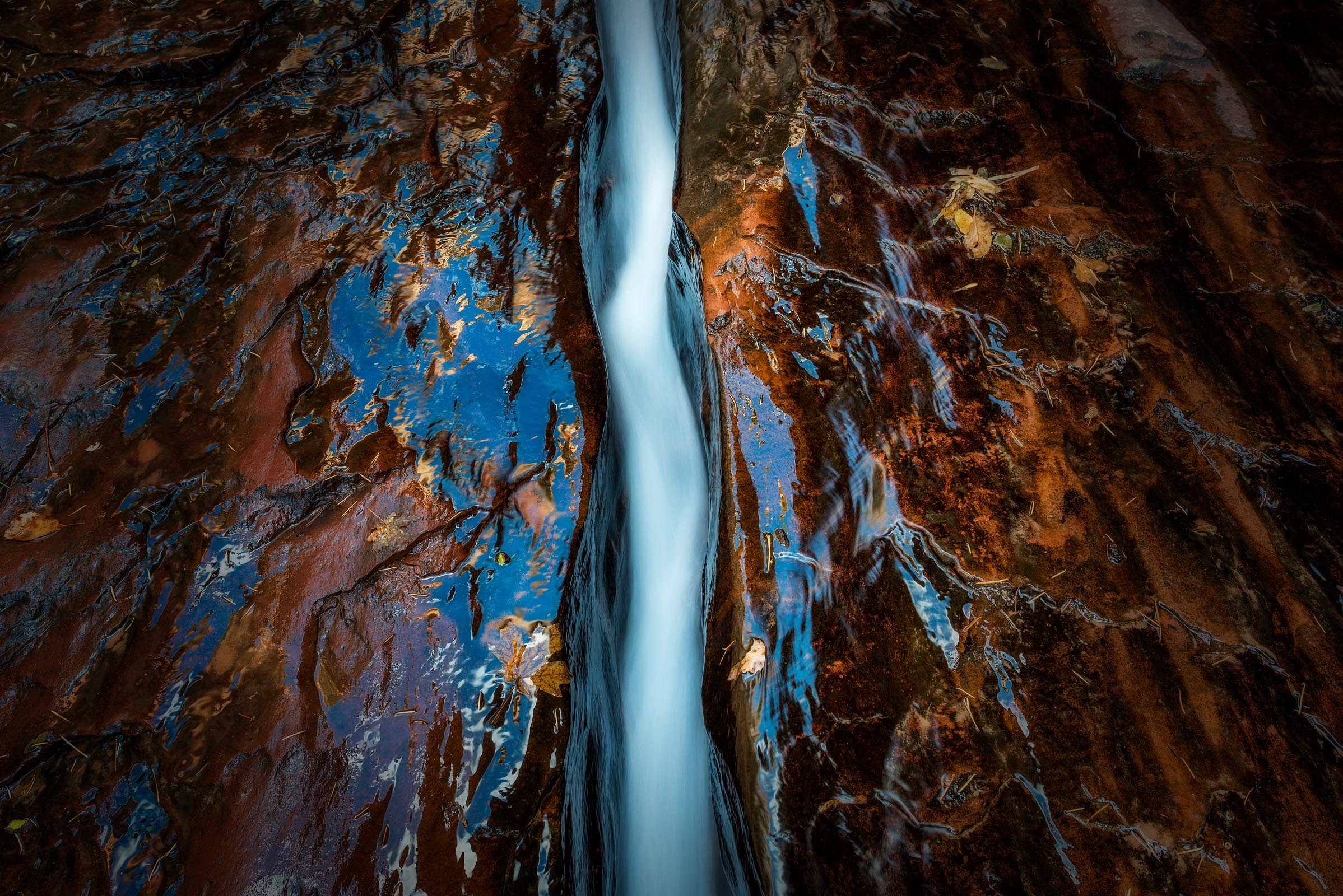 Photograph of The Crack in Zion, Utah by Brent Goldman Photography