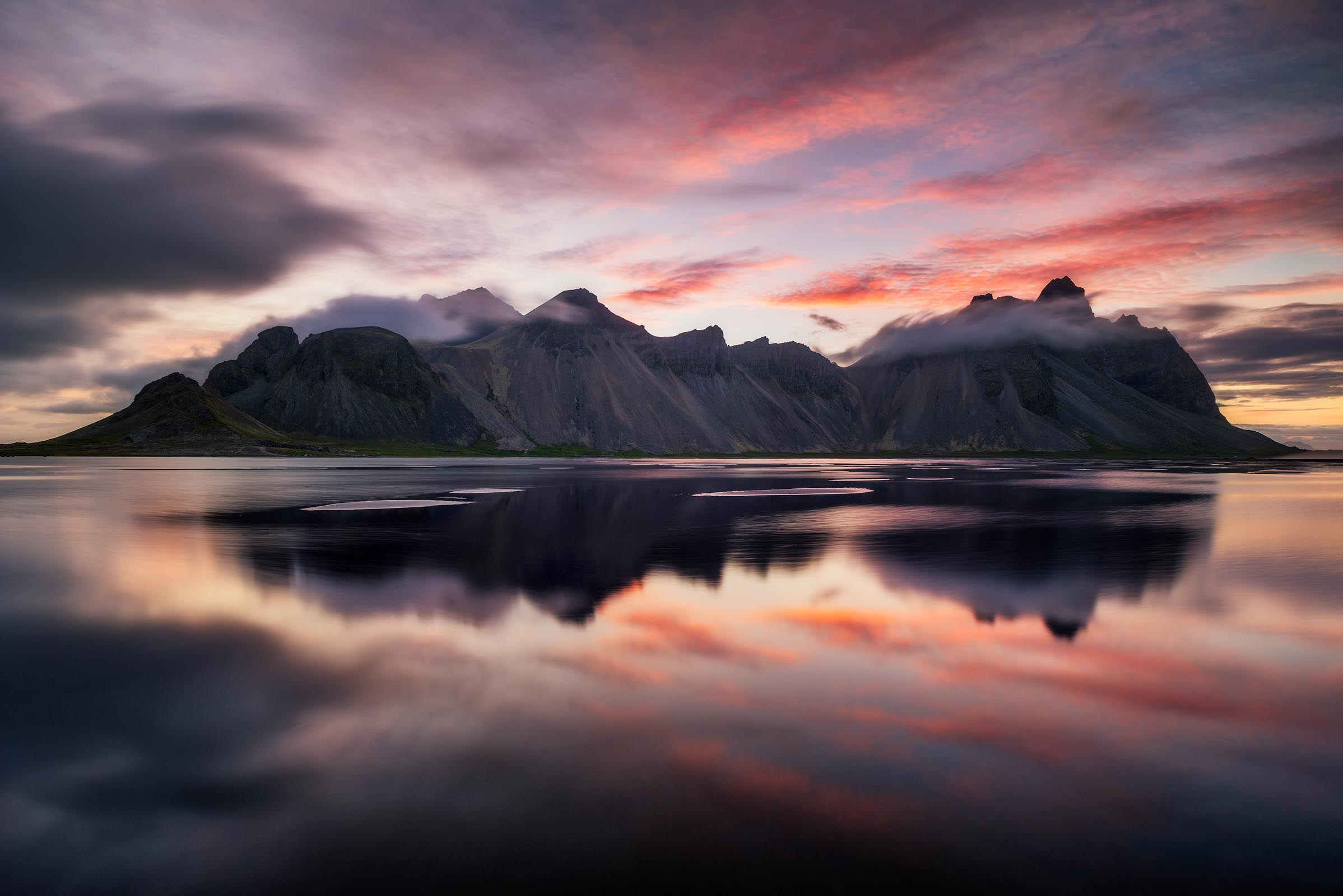 Photograph of Vestrahorn Mountain in Stokksnes, Iceland by Brent Goldman Photography