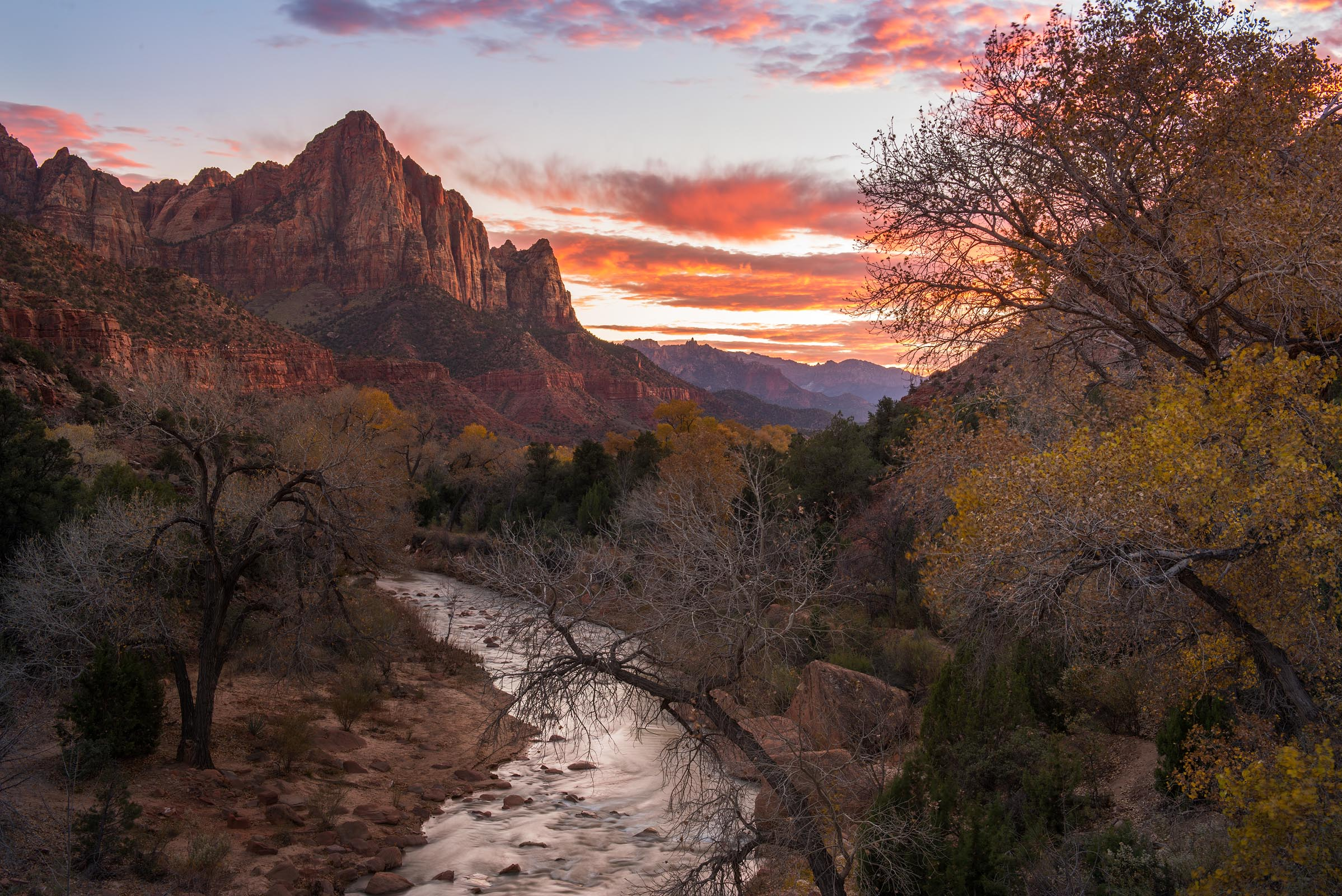 Photograph of Watchman in Zion, Utah by Brent Goldman Photography