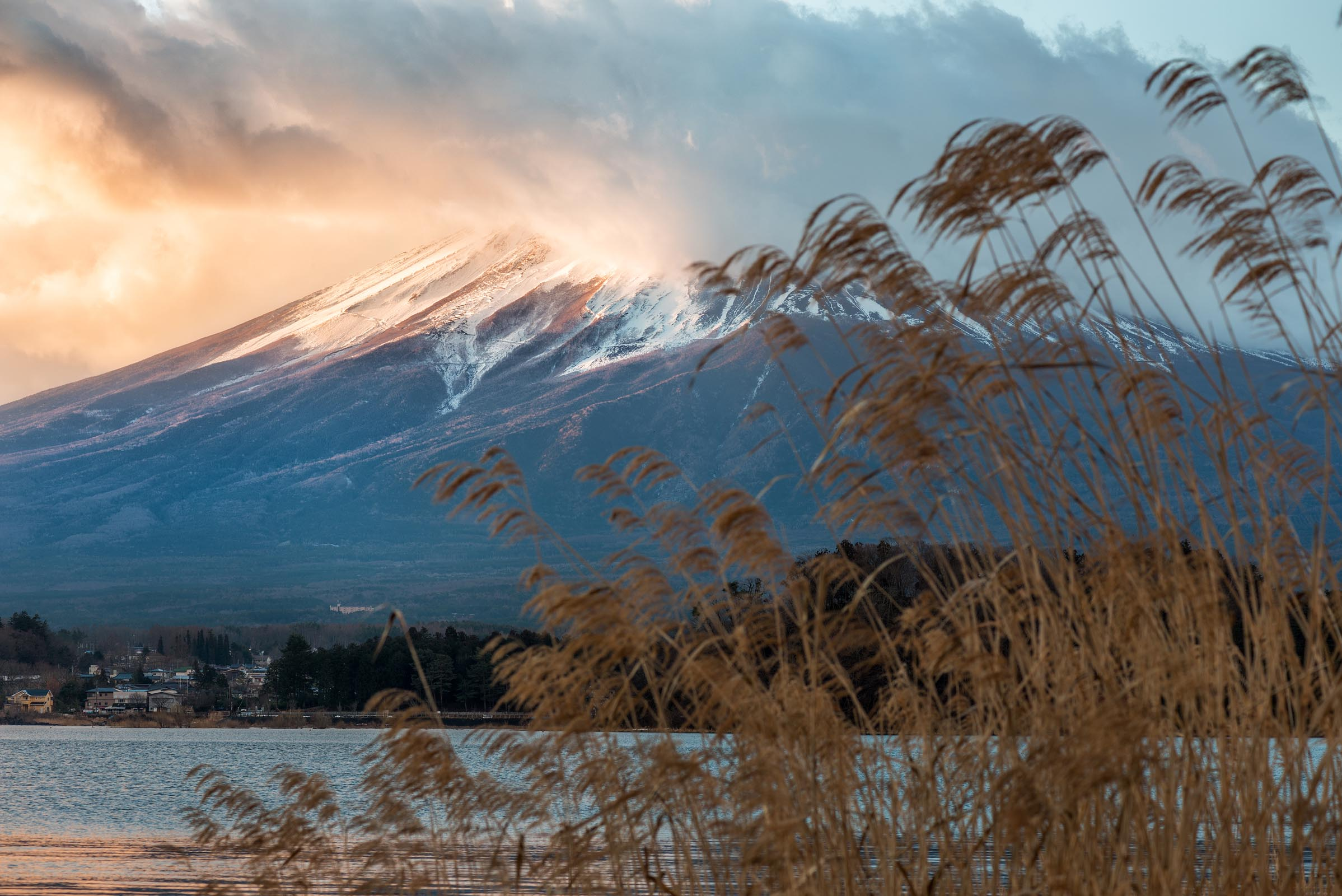 Photograph of Mt Fuji in Honshu, Japan by Brent Goldman Photography