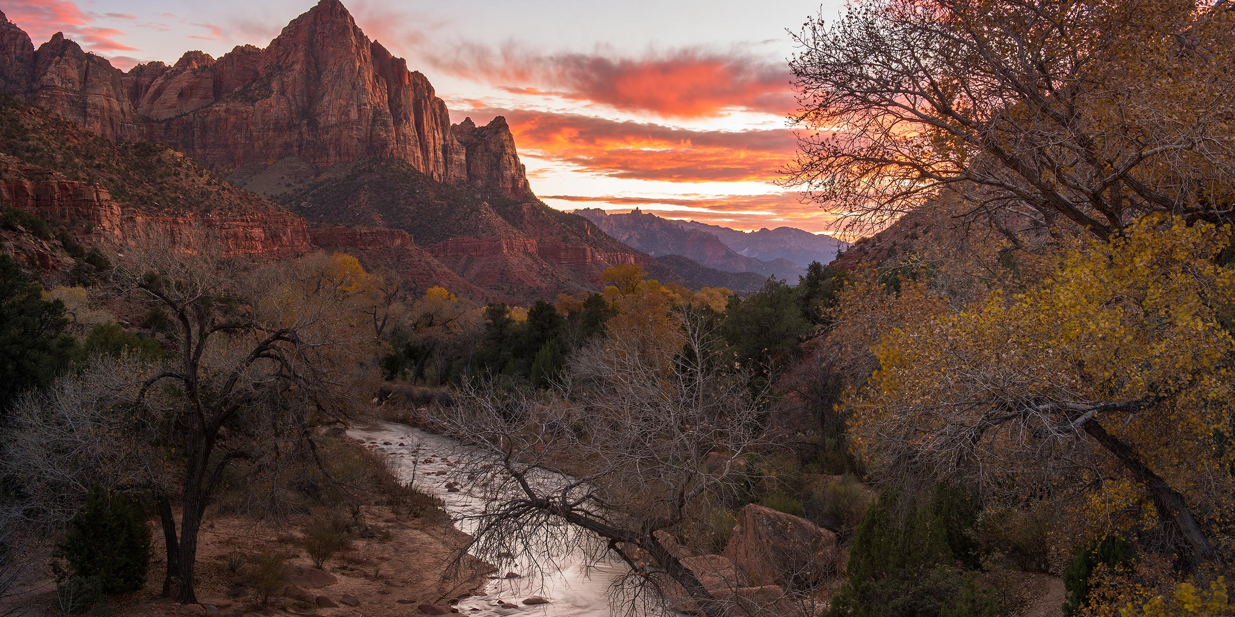 Photograph of The Watchman at Zion National Park by Brent Goldman Photography