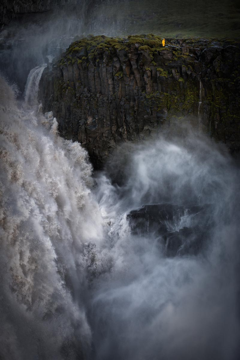 Photograph of Dettifoss Waterfall in Vatnajokull, Iceland by Brent Goldman Photography