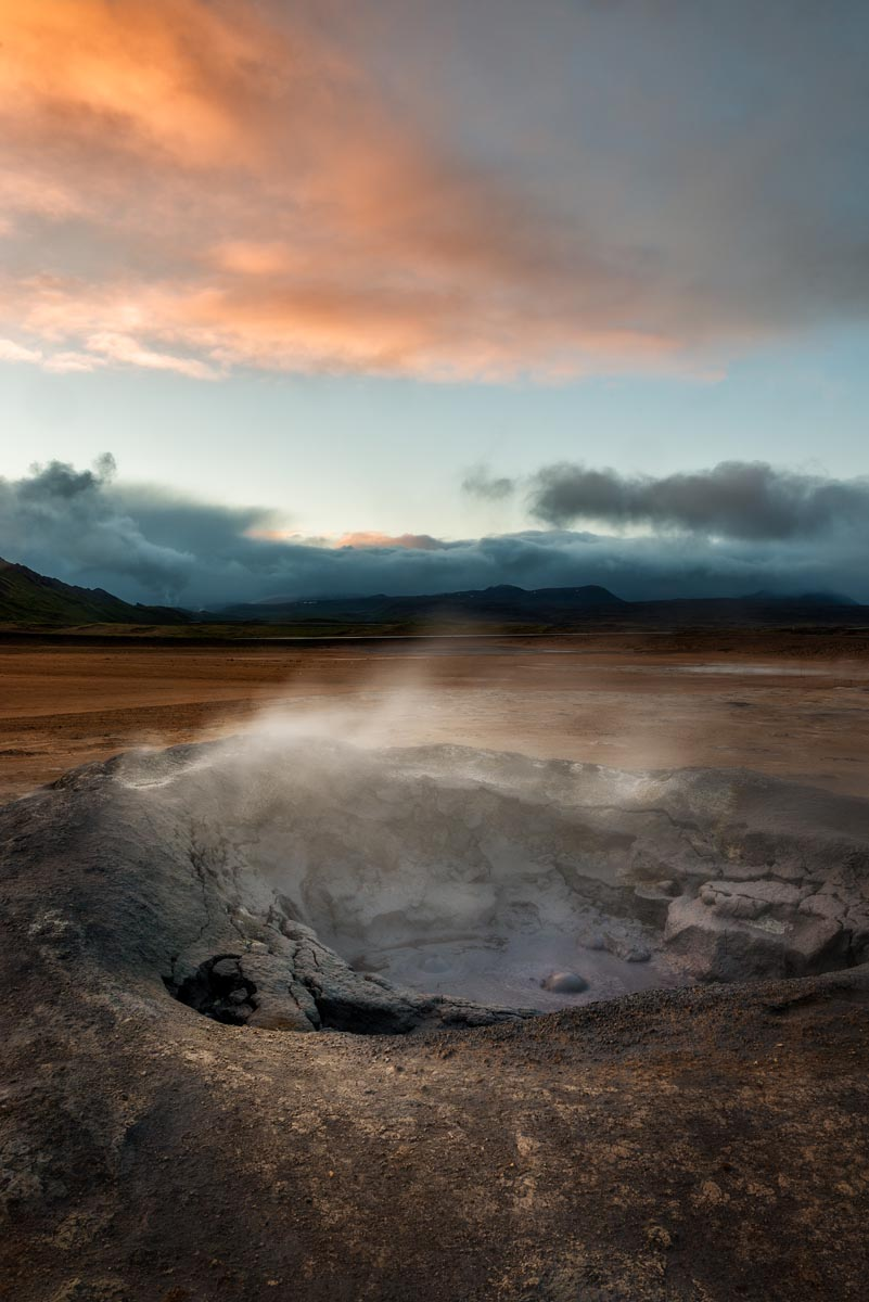 Photograph of Mud Pools in Hverir, Iceland by Brent Goldman Photography