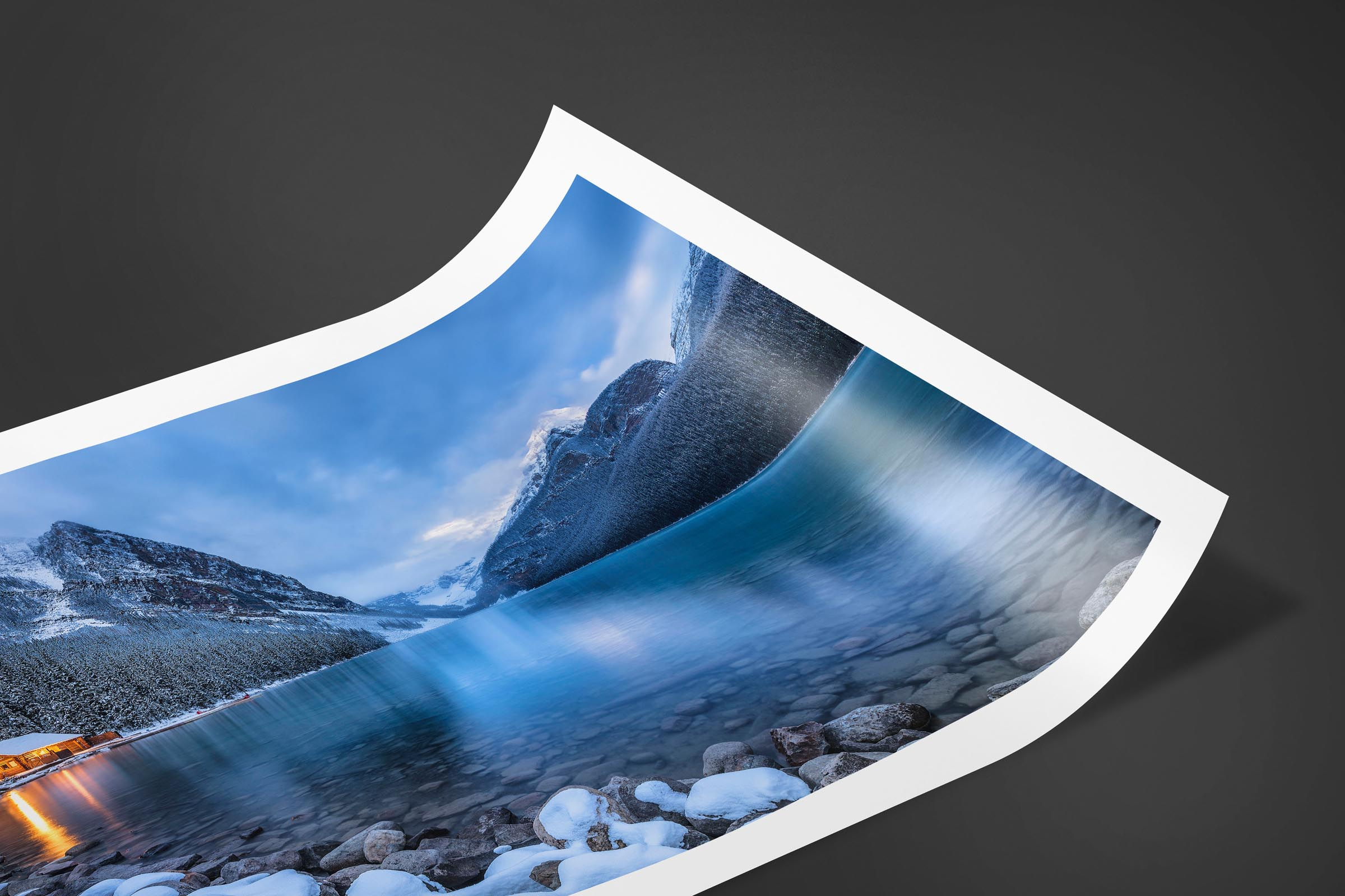 Fine art limited edition print of Lake Louise in Banff, Canada by Brent Goldman Photography