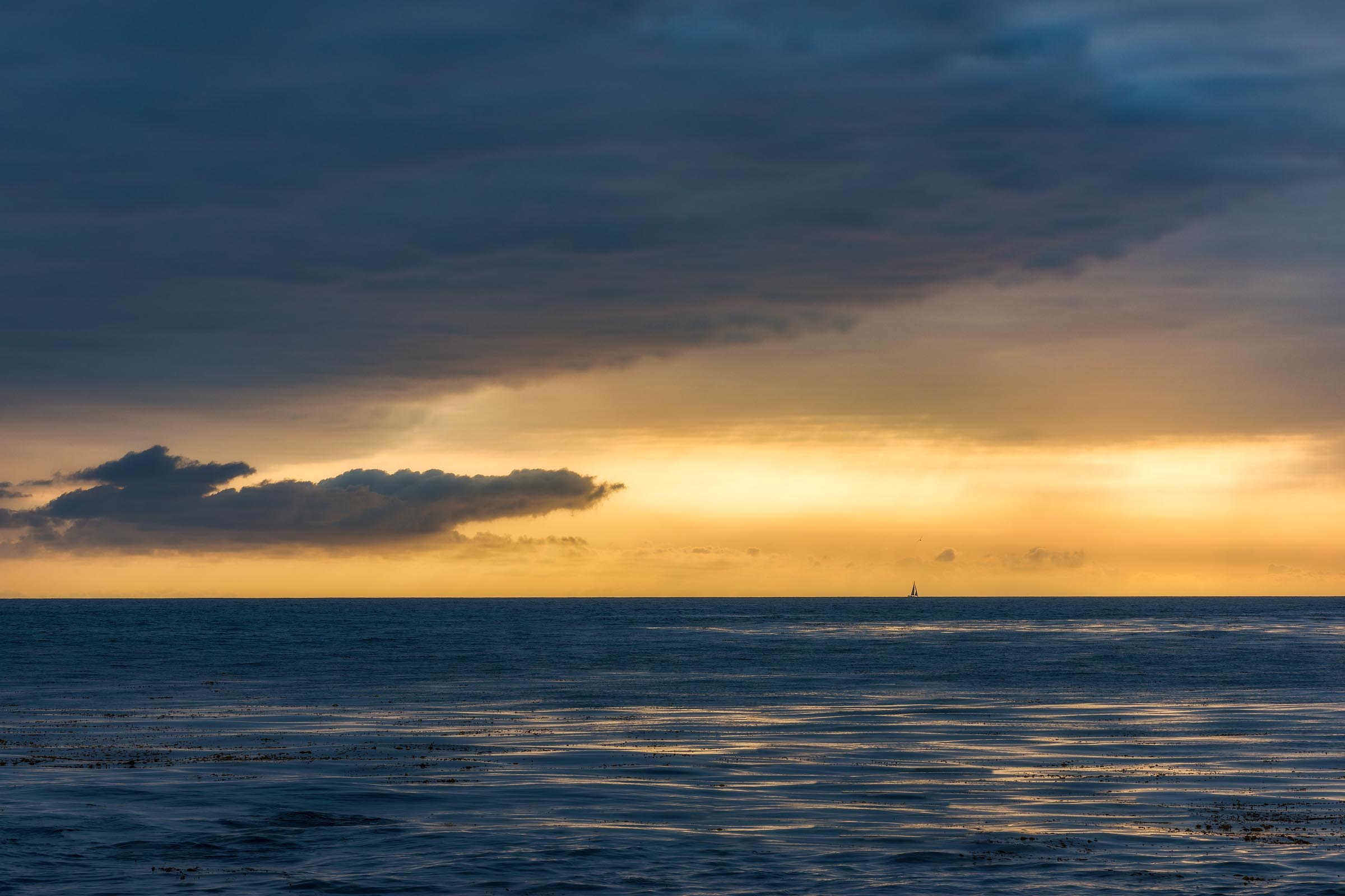 Photograph of Sailboat in Palos Verdes, California by Brent Goldman Photography