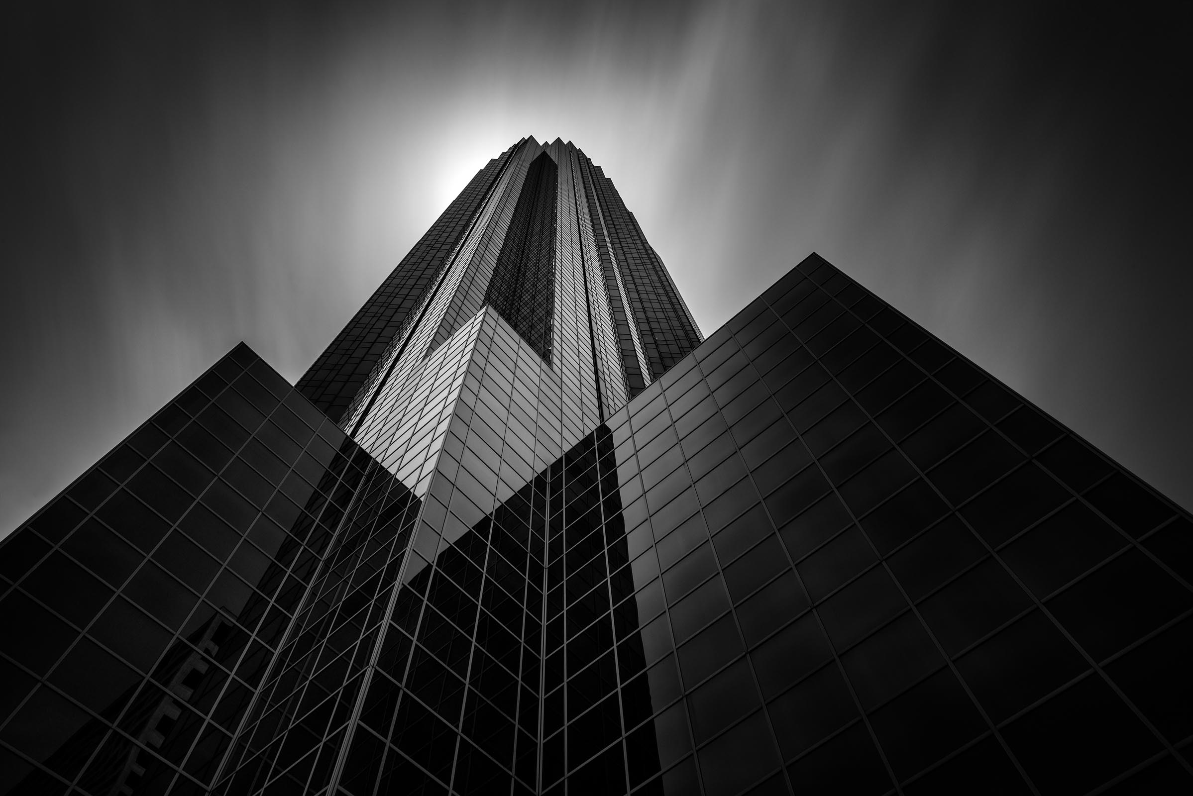 Photograph of Williams Tower in Houston, Texas by Brent Goldman Photography