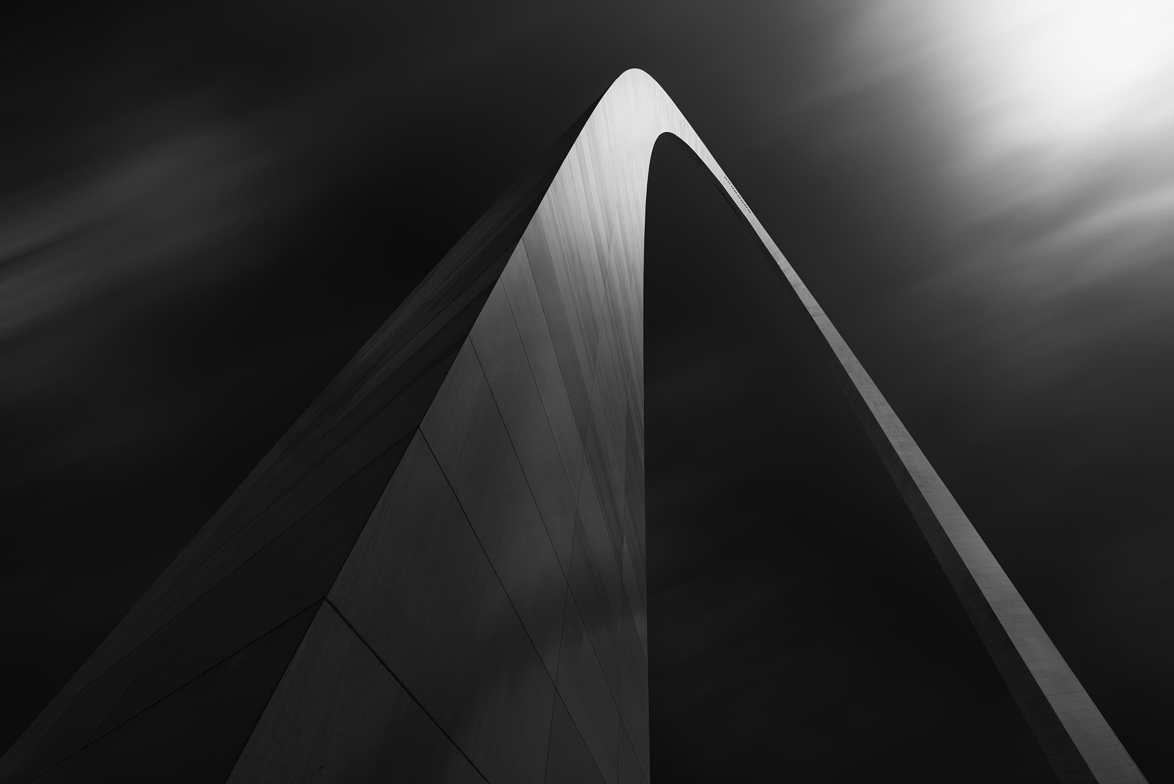 Photograph of Arch in St Louis, Missouri by Brent Goldman Photography