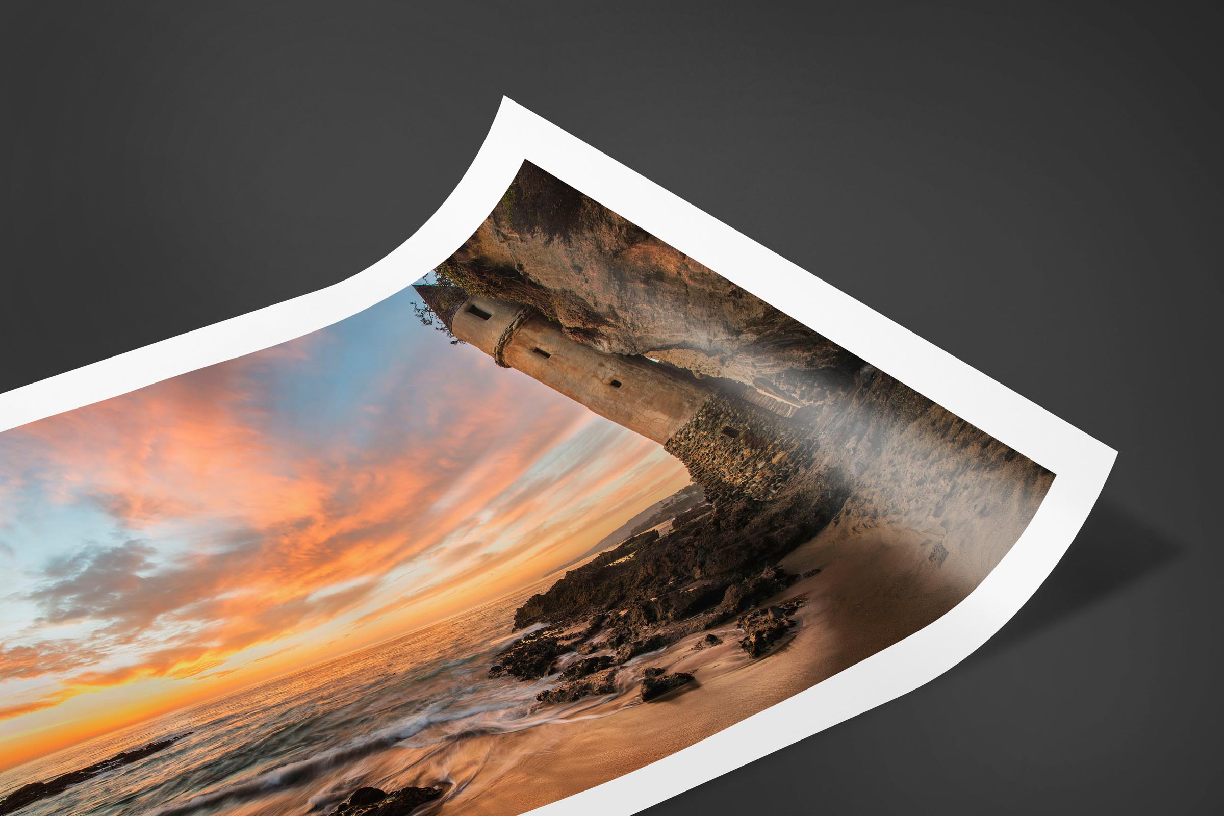 Fine art limited edition print of Victoria Castle in Laguna Beach, California by Brent Goldman Photography