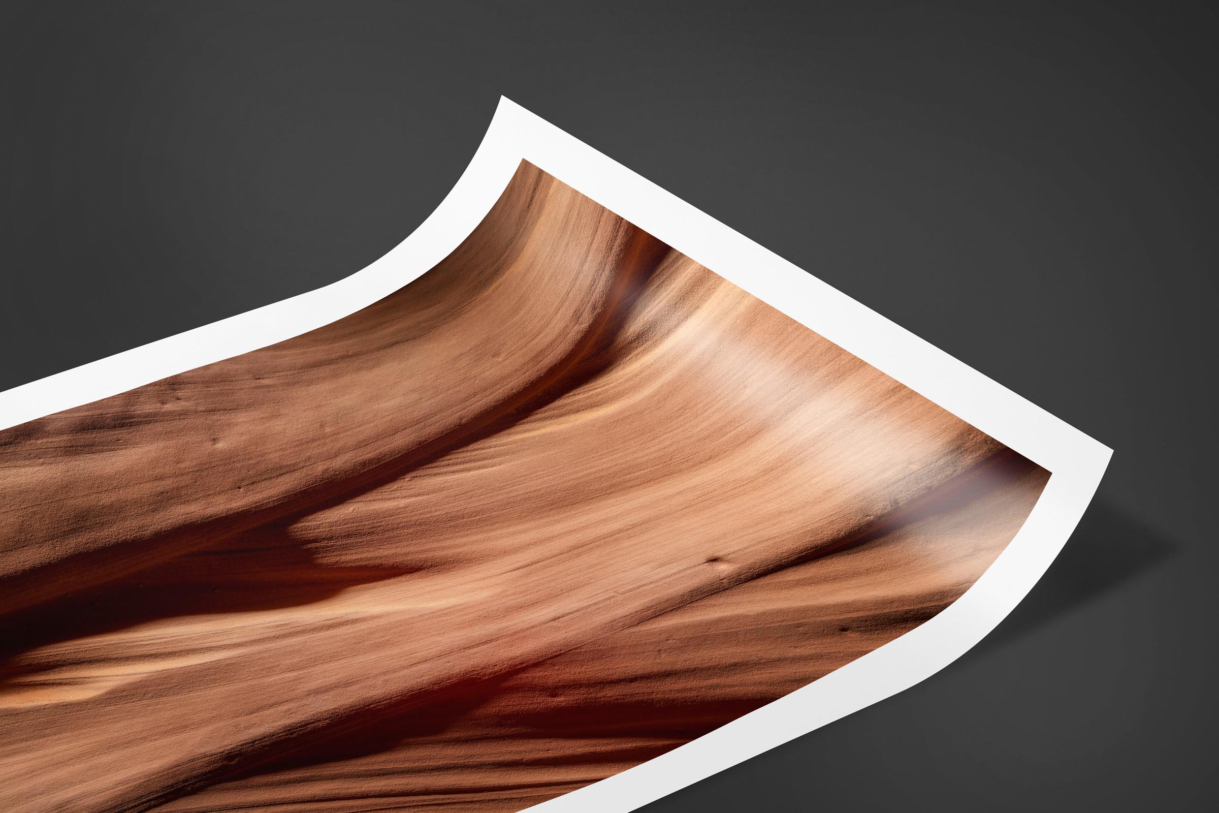 Fine art limited edition print of Abstract Antelope Canyon in Page, Arizona by Brent Goldman Photography