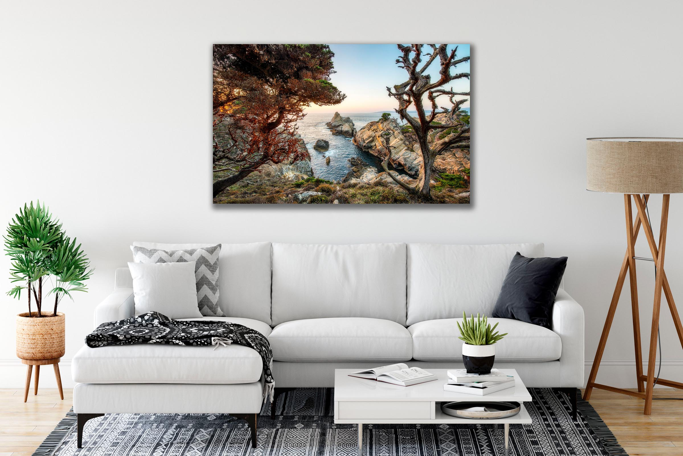 Wall art of Point Lobos in Carmel, California by Brent Goldman Photography