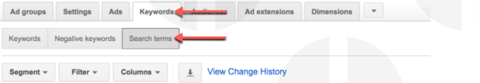 Image 3 - Finding Search Term Report in Google AdWords.png
