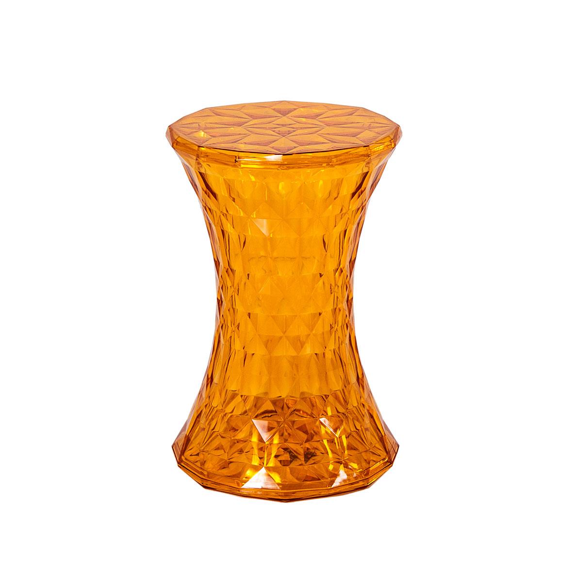 Banqueta Prism Cristal Âmbar