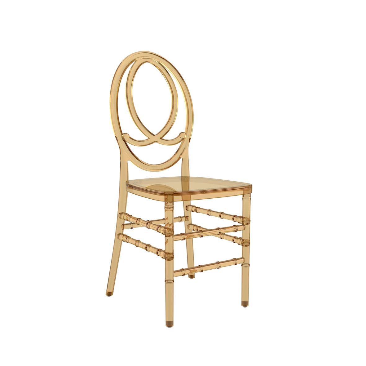 Cadeira Phoenix Cristal Âmbar