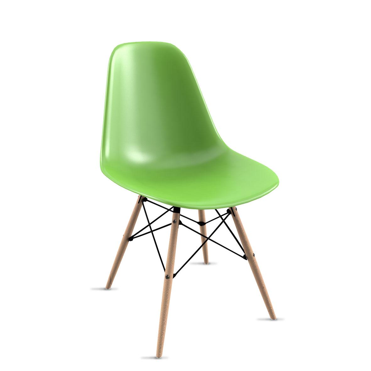 Cadeira Eames Verde