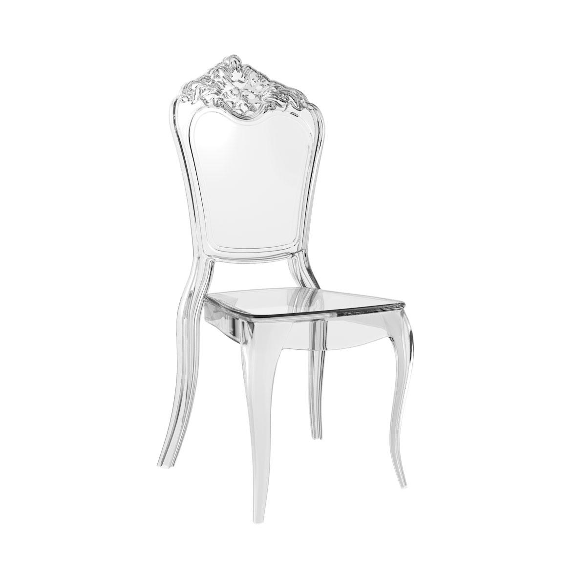 Cadeira Venezia Cristal
