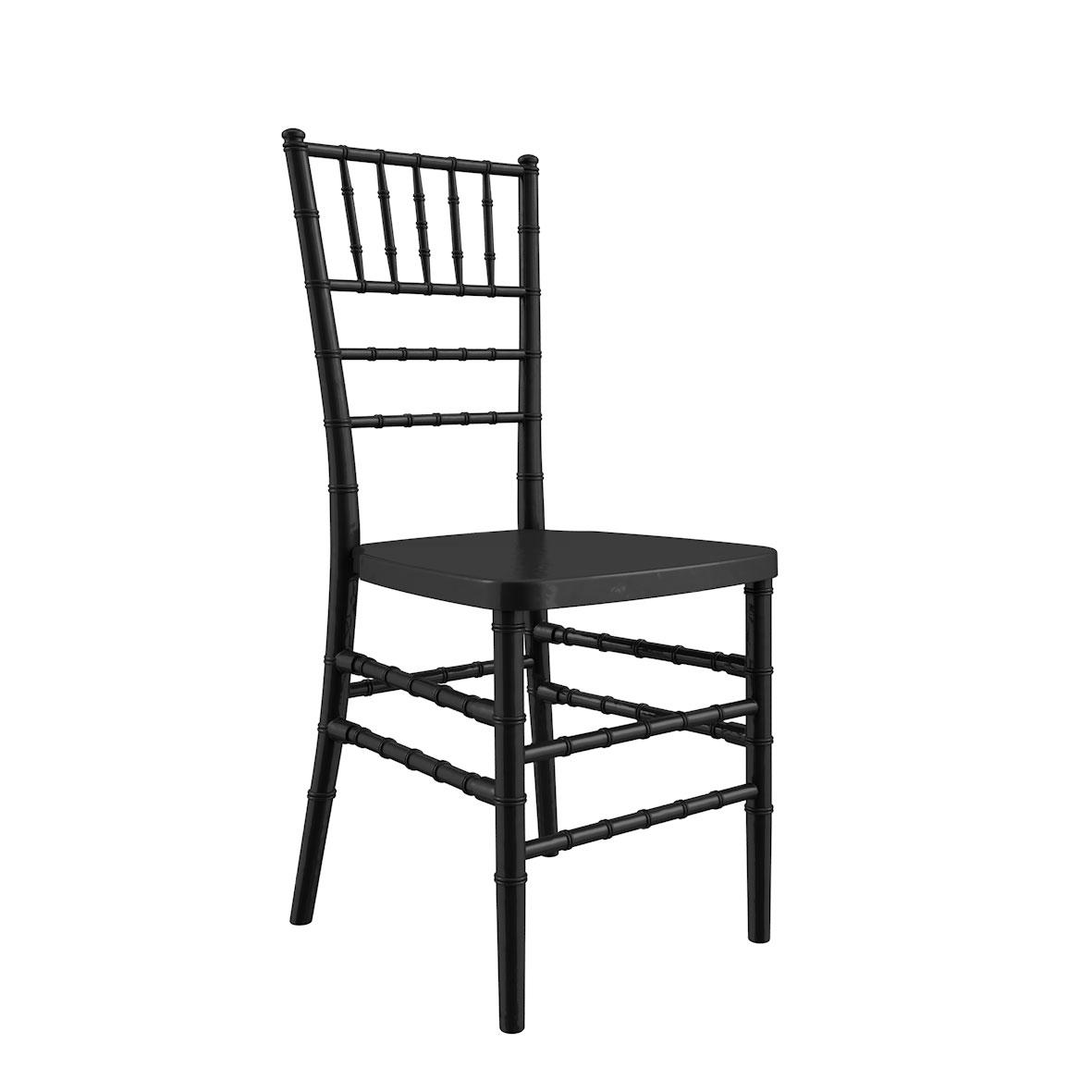 Cadeira Tiffany Madeira Preta
