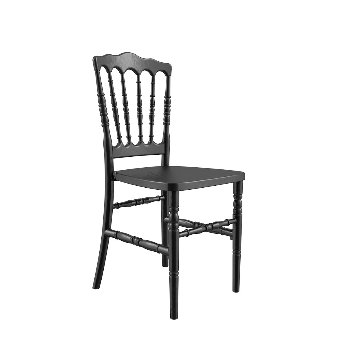 Cadeira Dior Madeira Preta